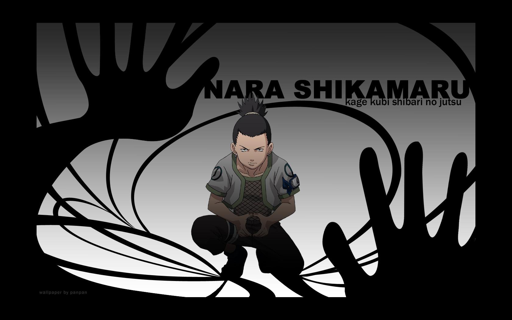 Naruto Wallpaper: Shikamaru: Kage Kubi Shibari No Jutsu ...