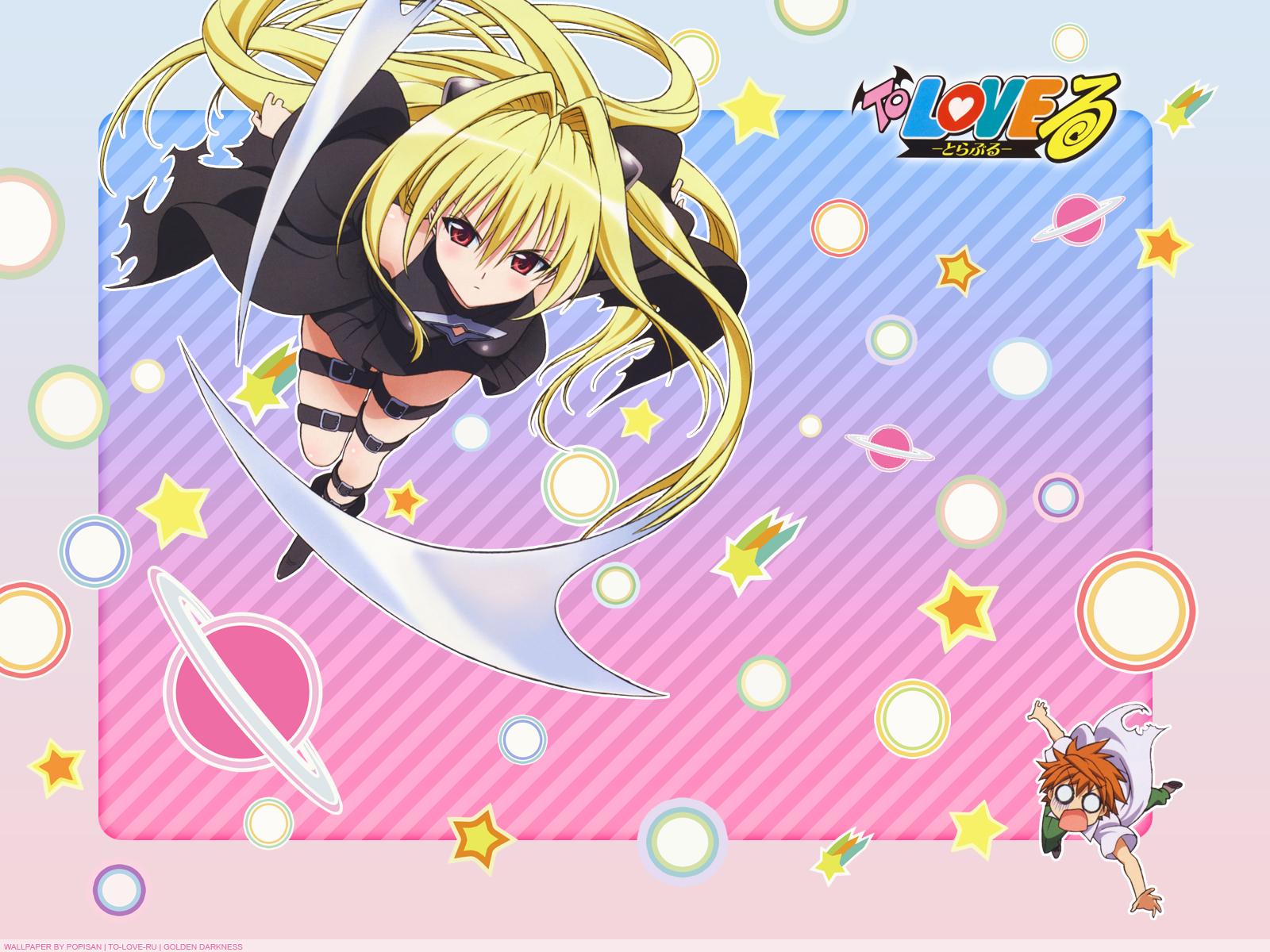 To Love Ru Wallpaper Golden Darkness Minitokyo