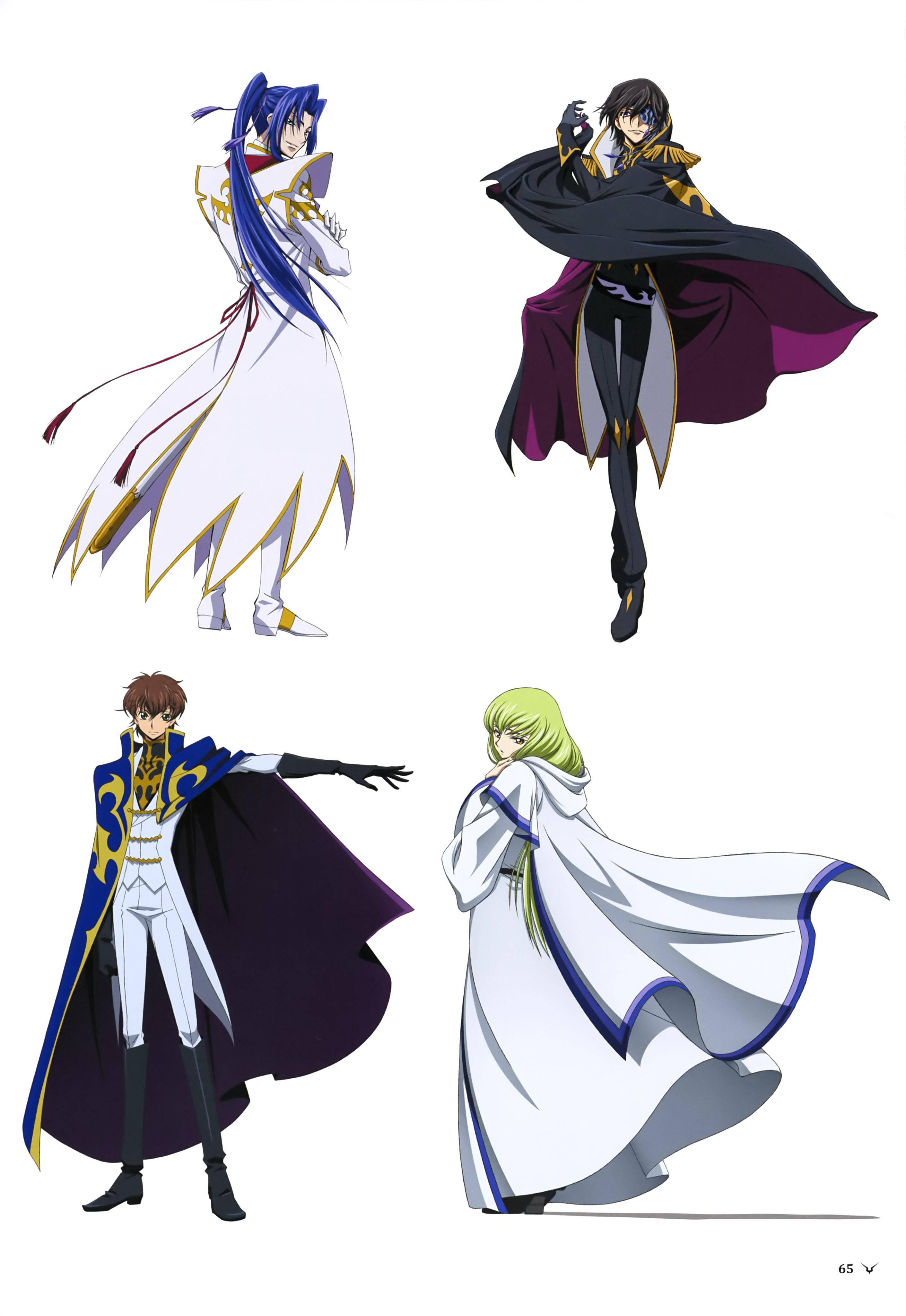 8cc6f02456ec63 Akito the Exiled (C.C., Suzaku Kururugi, Julius Kingsley, Shin Hyuuga  Shaingu)