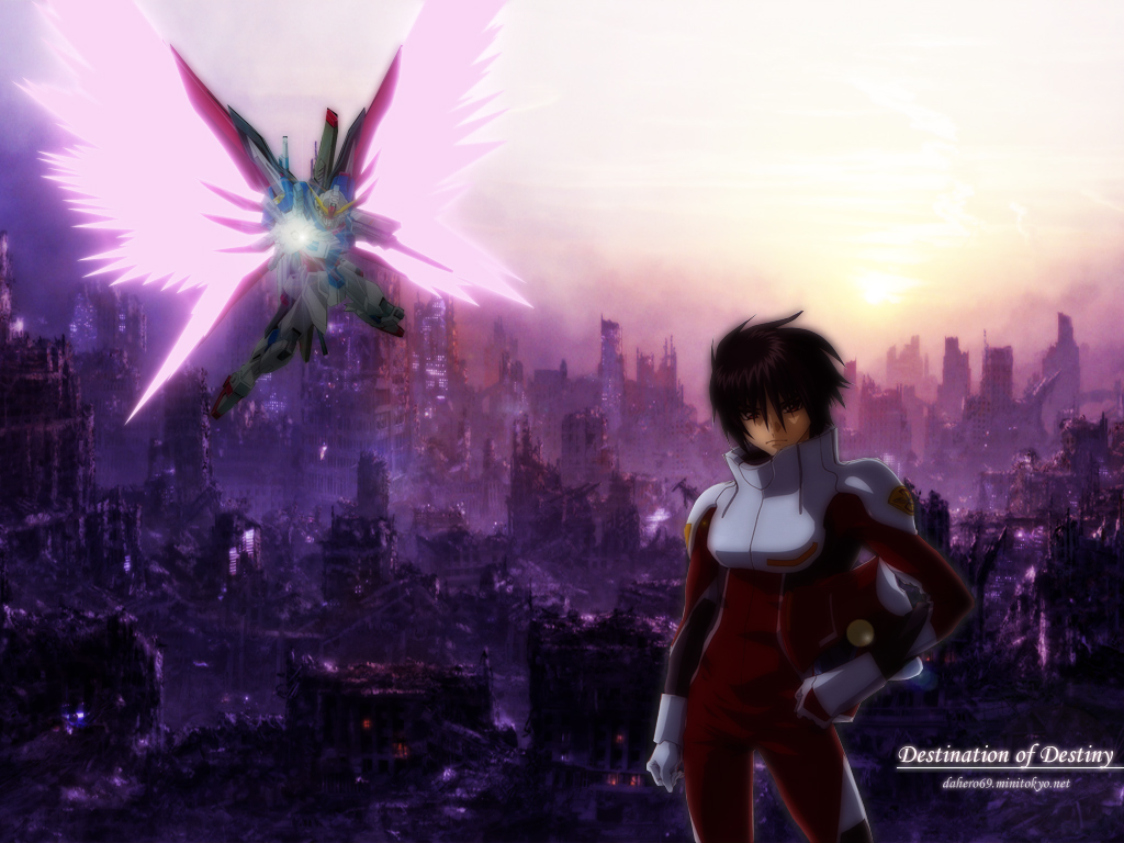 Mobile Suit Gundam Seed Destiny Wallpaper Destination Of Destiny Minitokyo