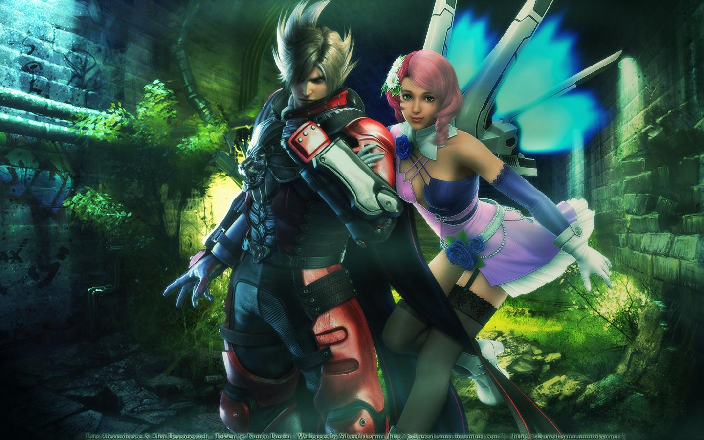 Tekken Wallpaper Lars And Alisa Minitokyo
