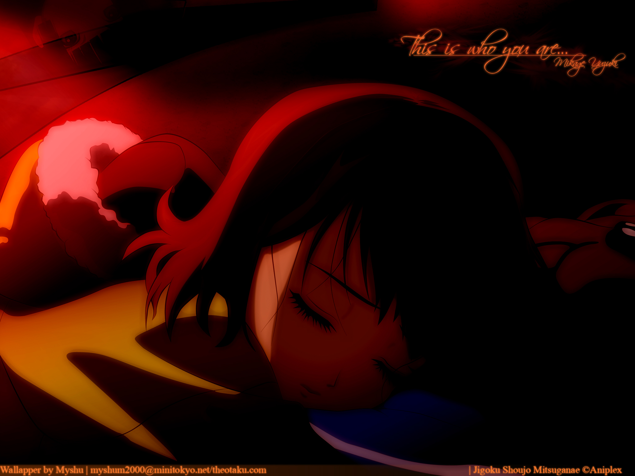 Jigoku Shoujo Wallpaper This Is Who You Are Minitokyo