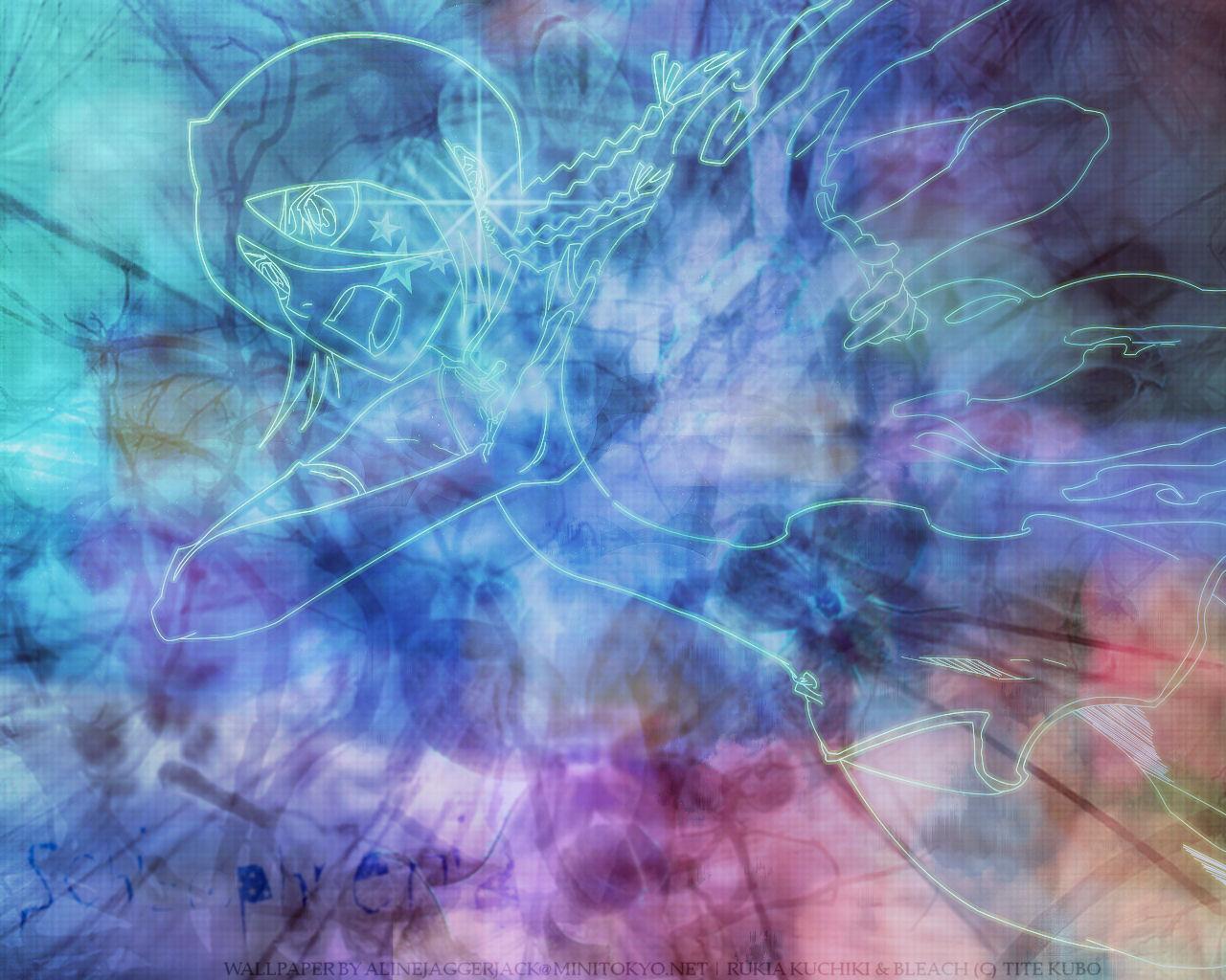 Rukia Kuchiki Wallpaper Schizophrenia Minitokyo