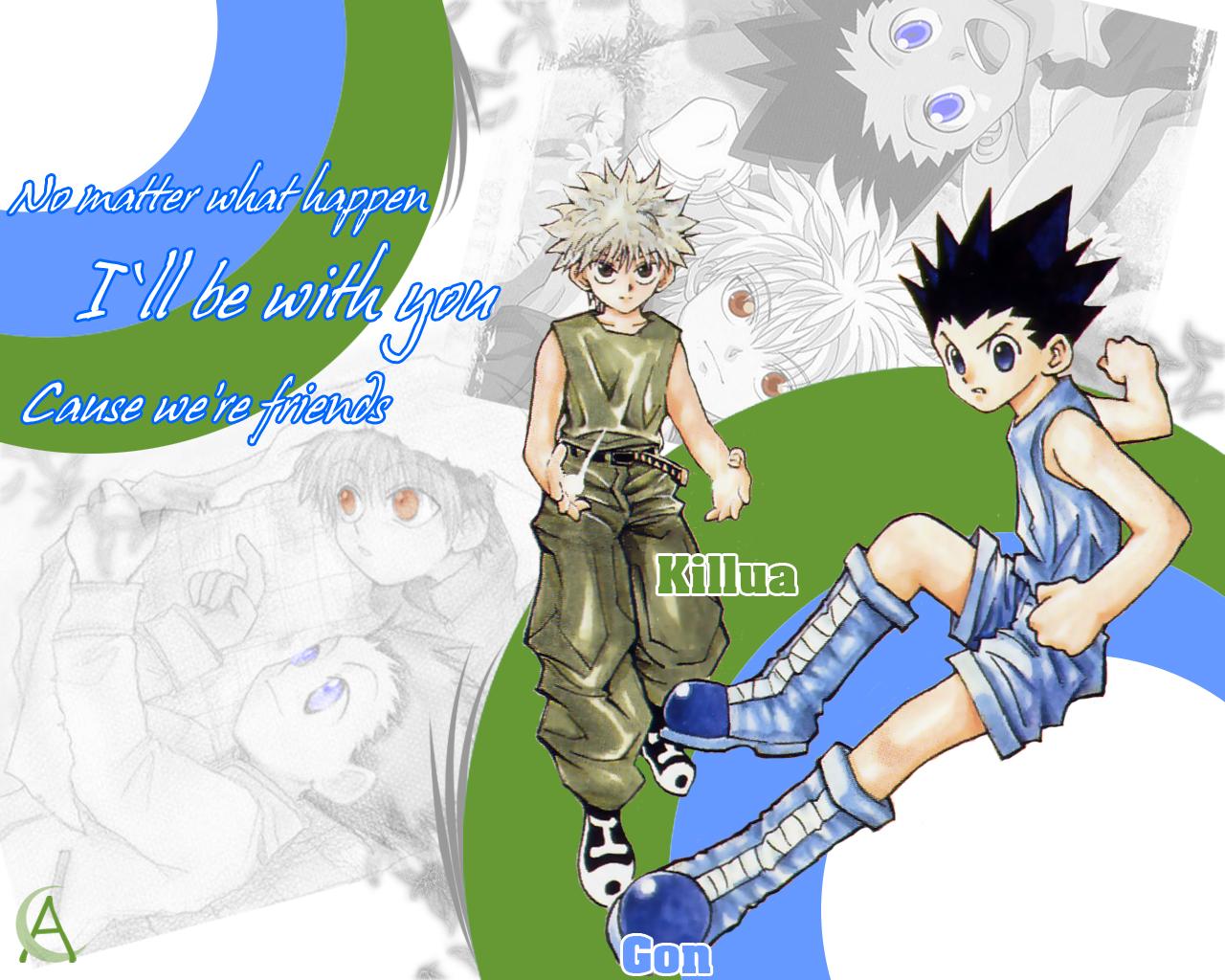 Hunter X Hunter Wallpaper And Scan Gallery Minitokyo