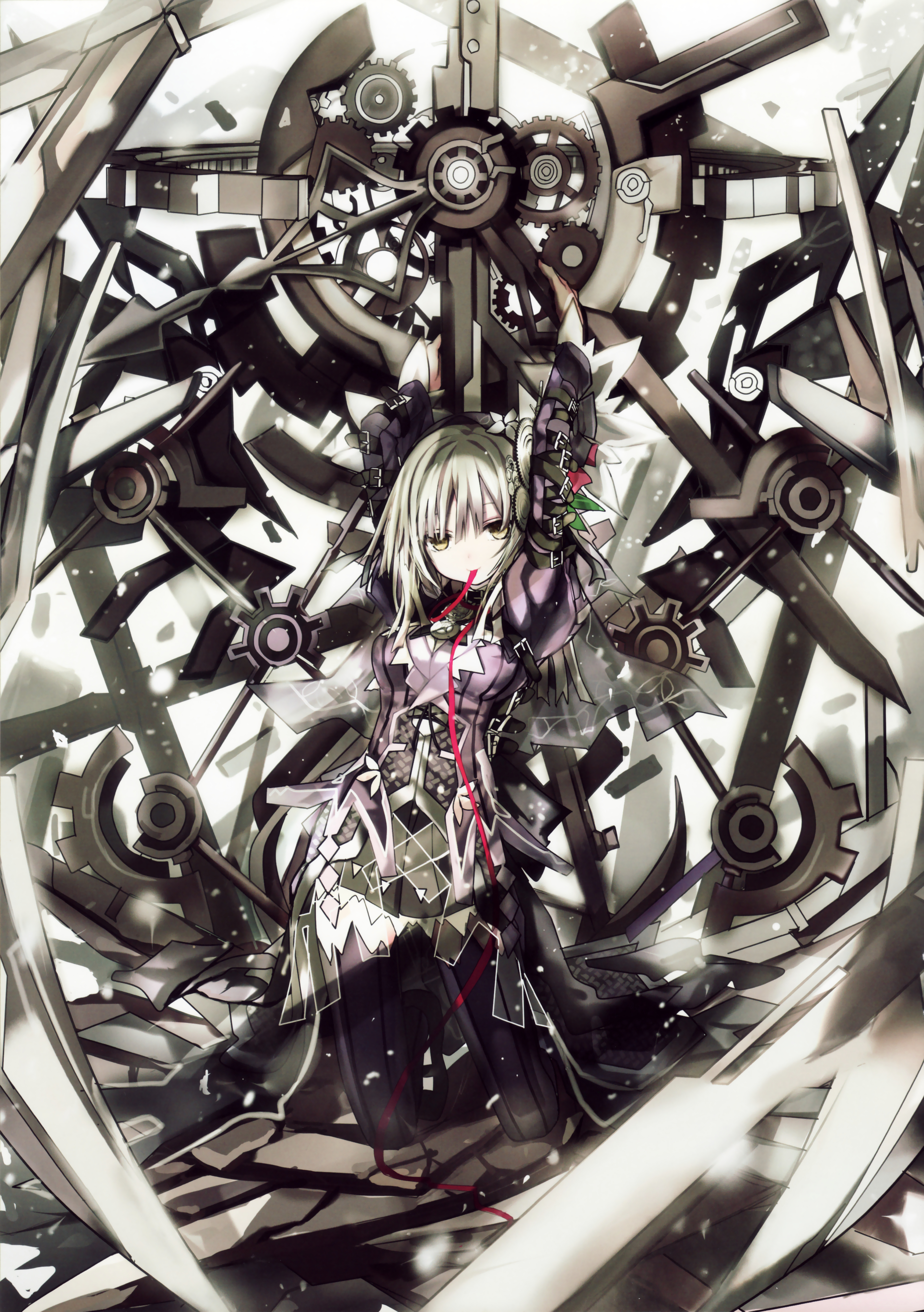 Clockwork Planet Wallpaper And Scan Gallery Minitokyo