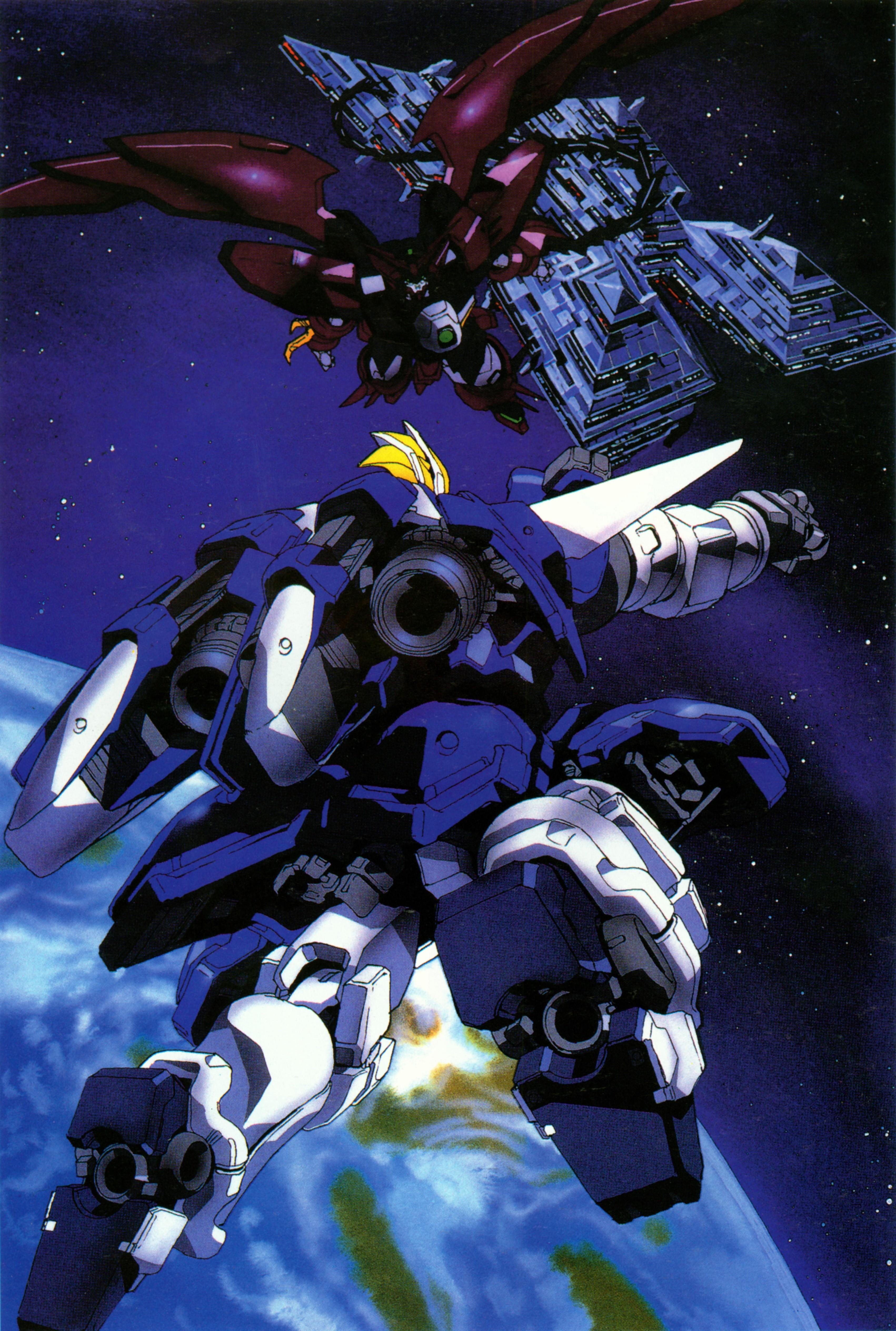 The Forgotten Lair   Gundam Wing Gallery