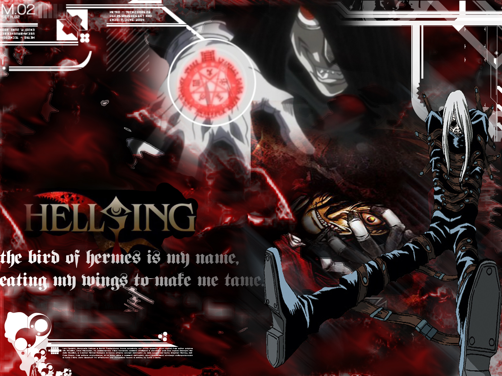 Hellsing Wallpaper Hellsing Ultimate Tech Minitokyo
