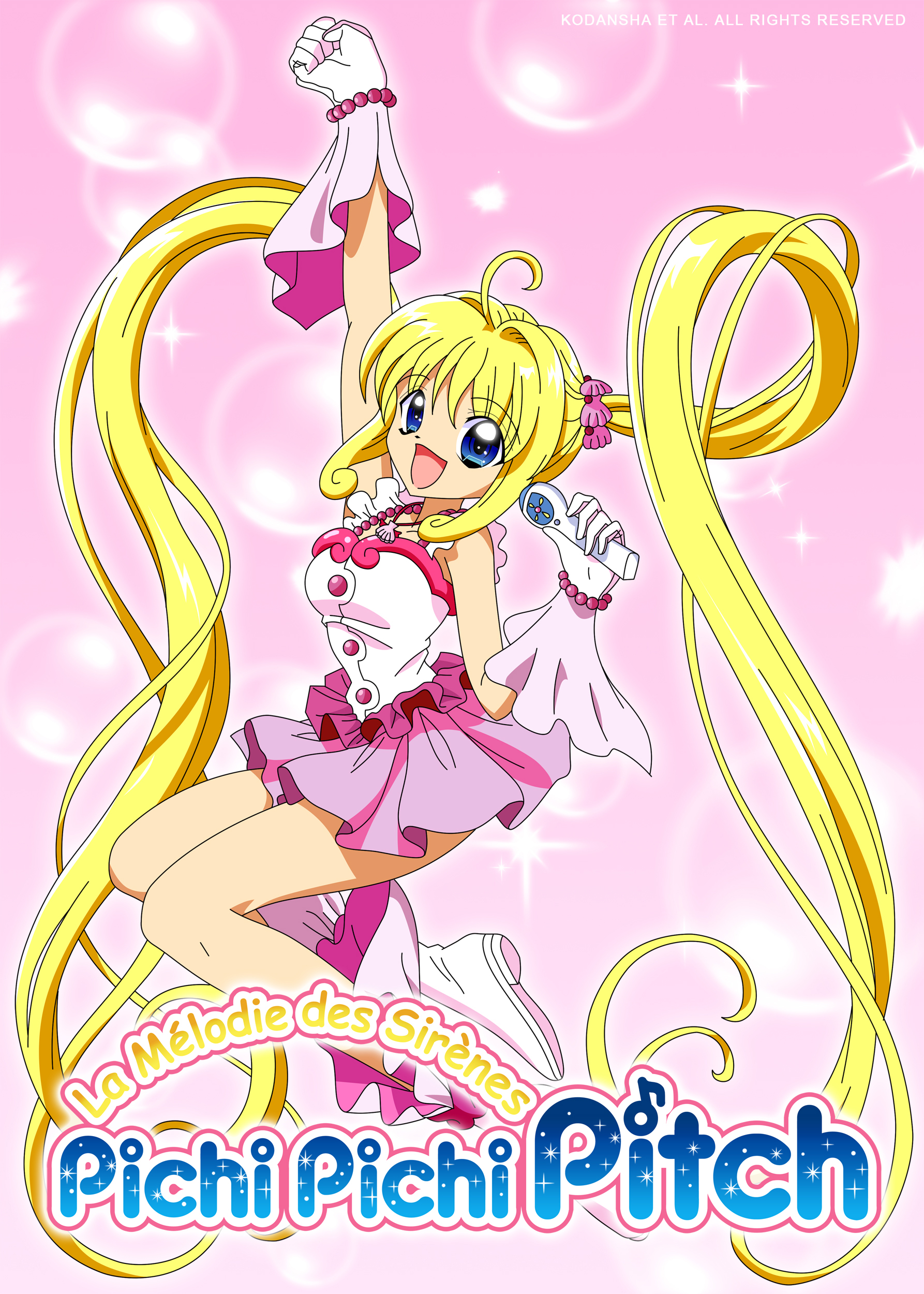 mermaid melody pichi pichi pitch lucia nanami vector