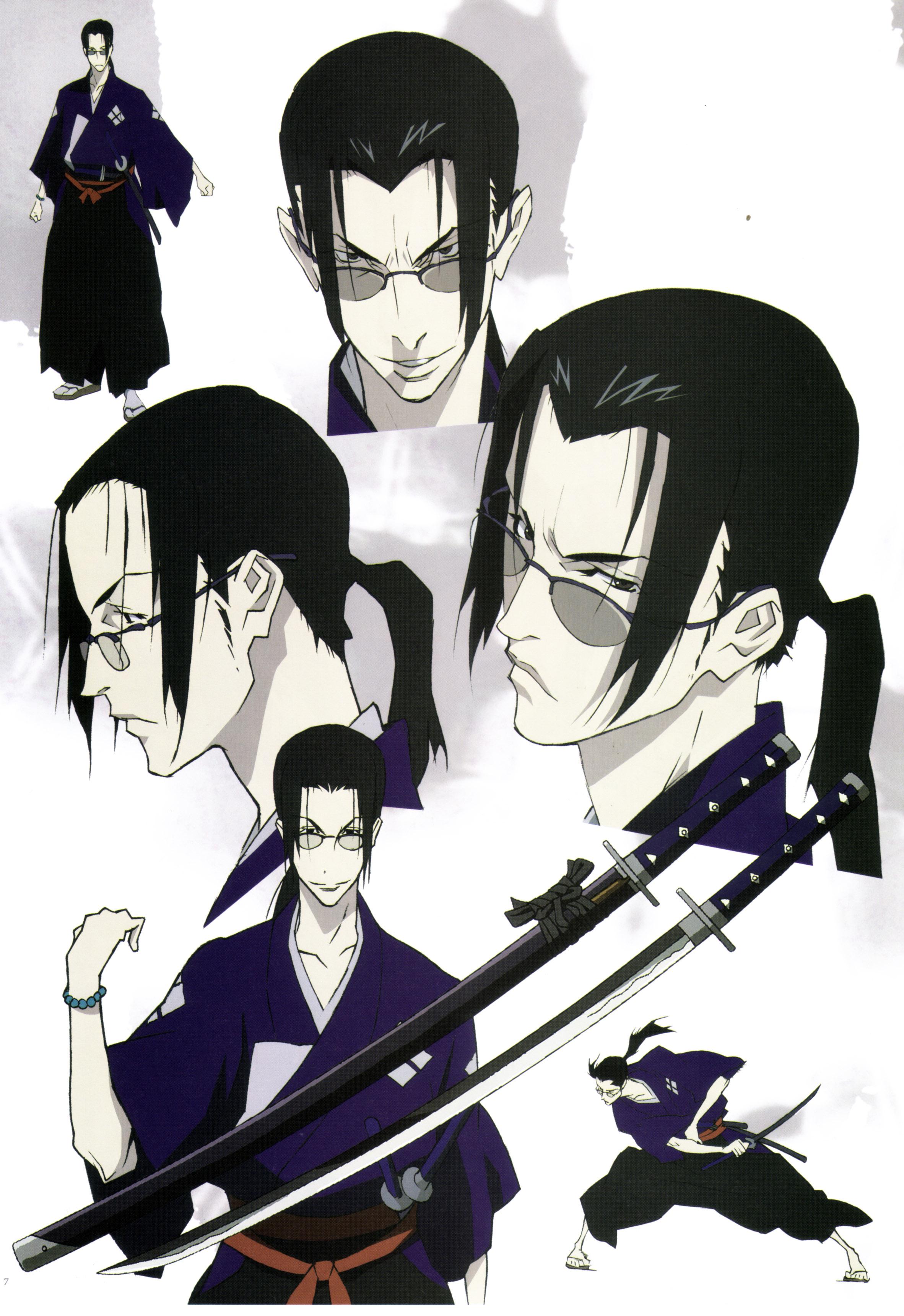 samurai champloo  jin face