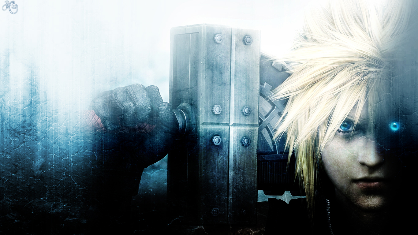cloud strife - wallpaper and scan gallery - minitokyo