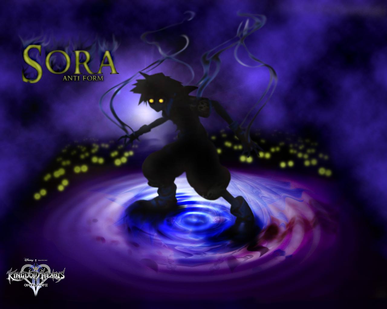 Kingdom Hearts Wallpaper Sora Anti Form Minitokyo