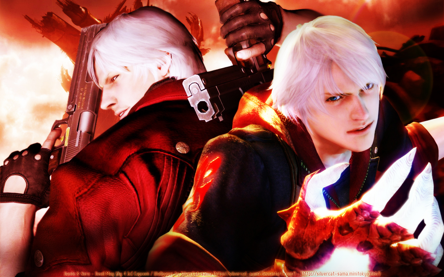 devil may cry - wallpaper and scan gallery - minitokyo