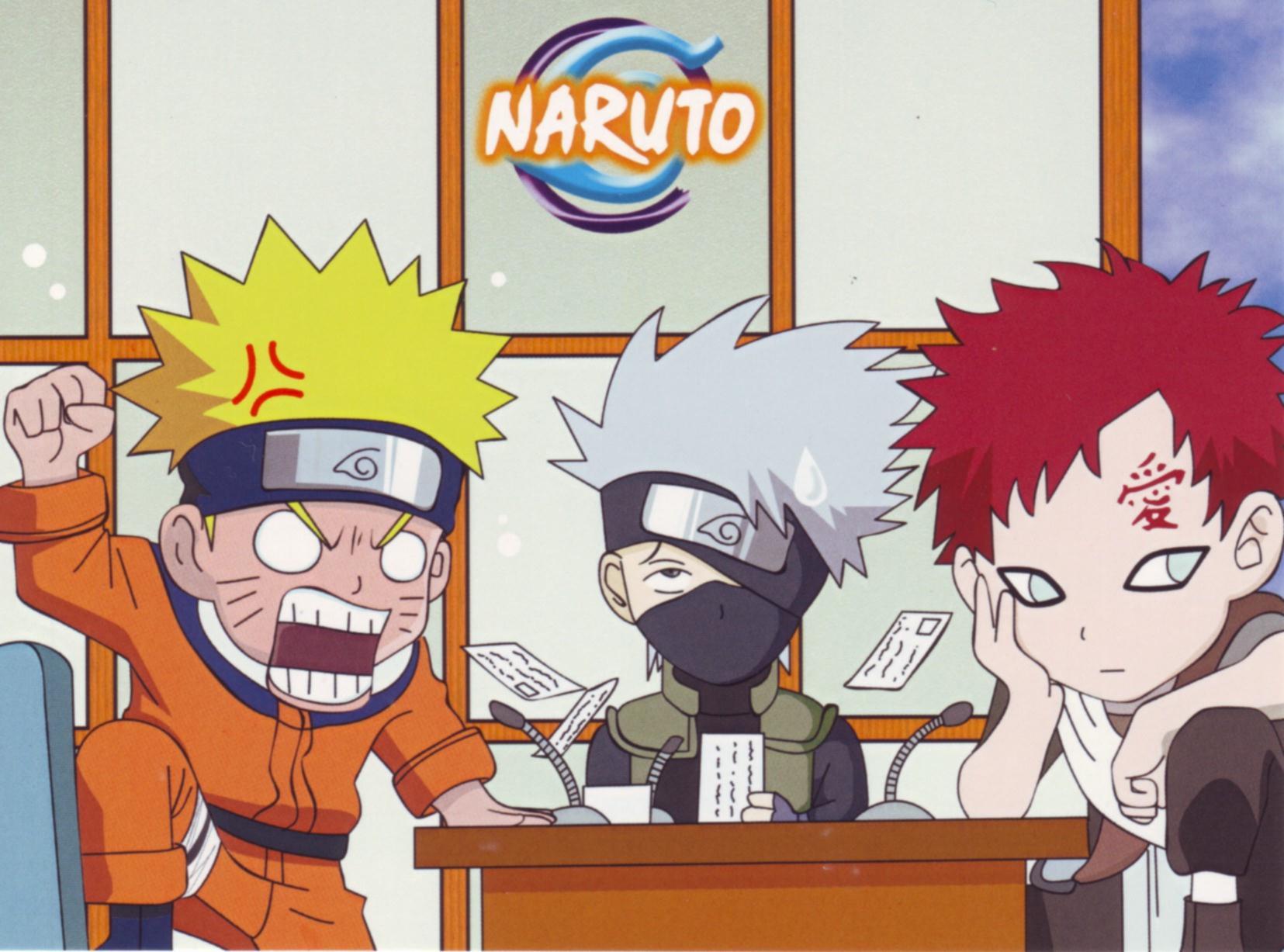 Gaara And Naruto Chibi