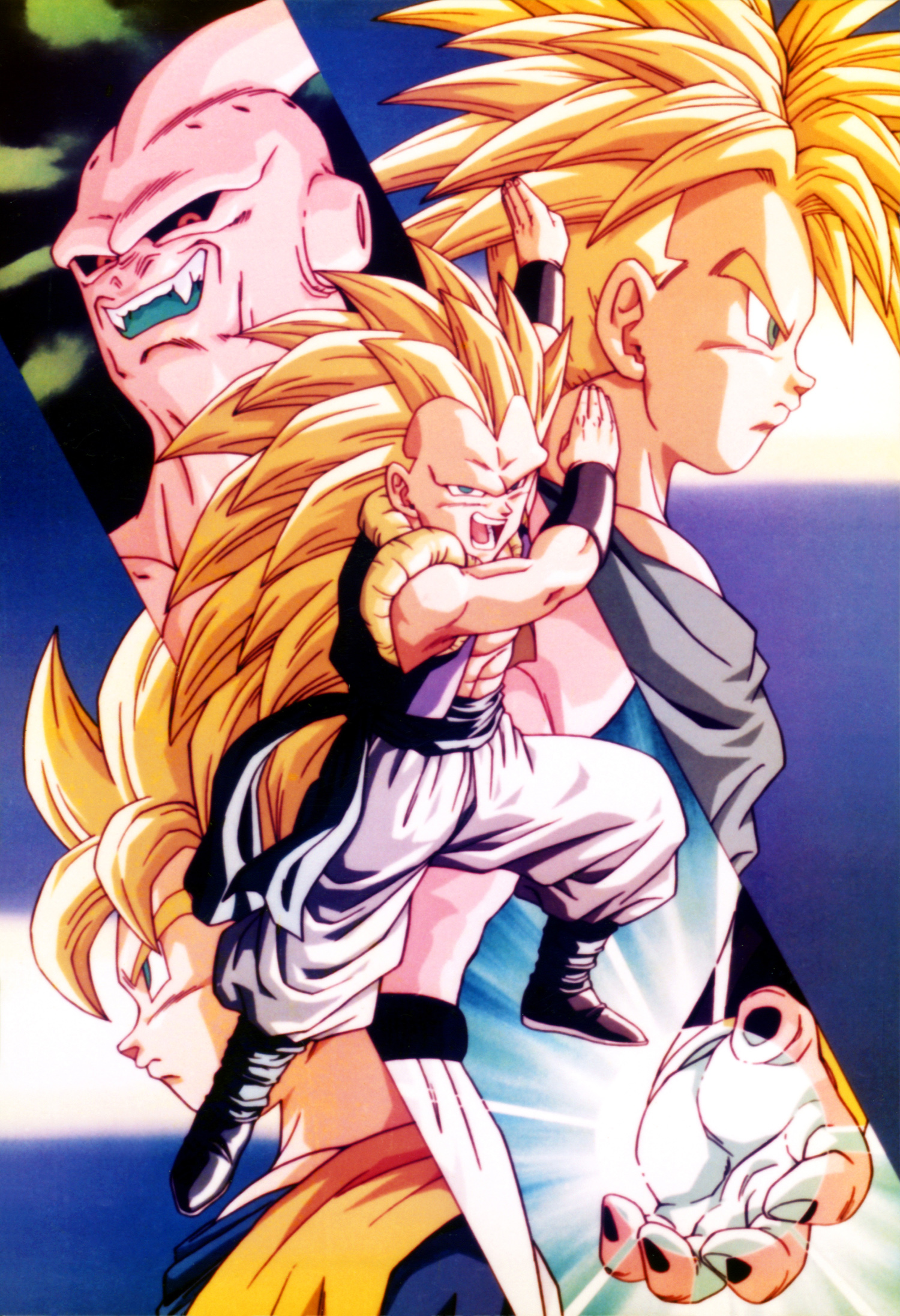 Dragon Ball Boo Gotrunks Goten Y Trunks Minitokyo