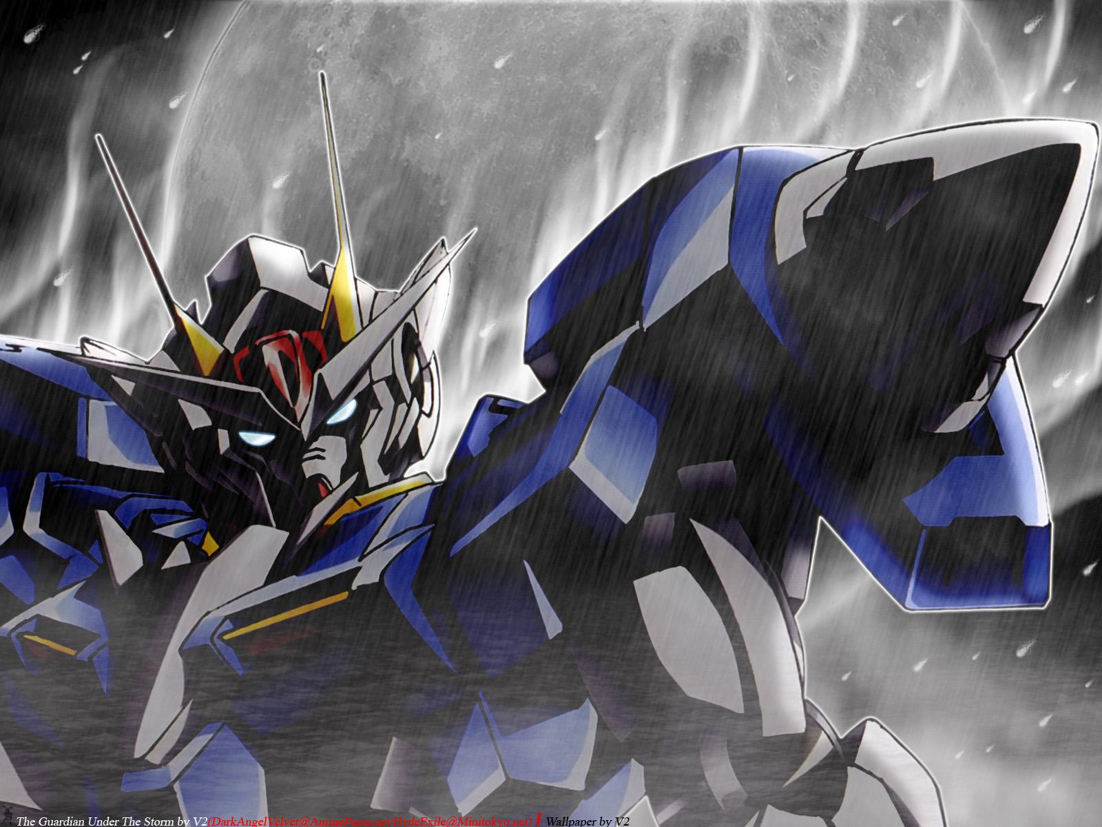Mobile Suit Gundam 00 Wallpaper: The Guardian Under The ...