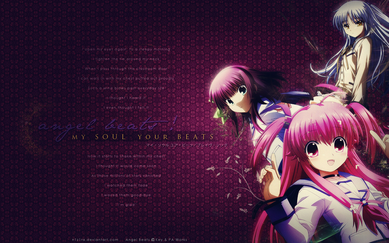 Angel Beats! - Wallpaper and Scan Gallery - Minitokyo