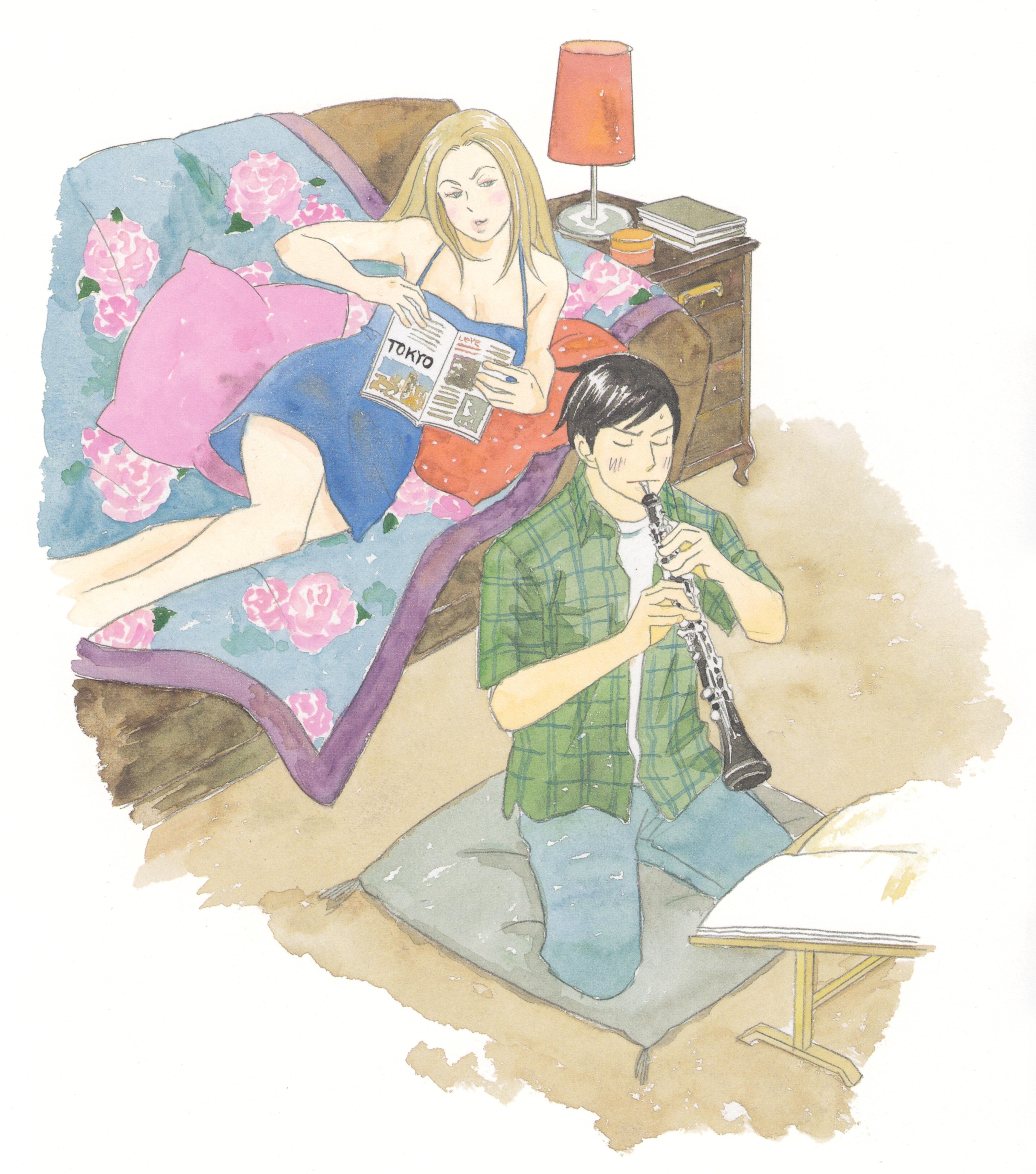 Nodame Cantabile Ninomiya Tomoko: Nodame Cantabile: Nodame Illustrations P.55