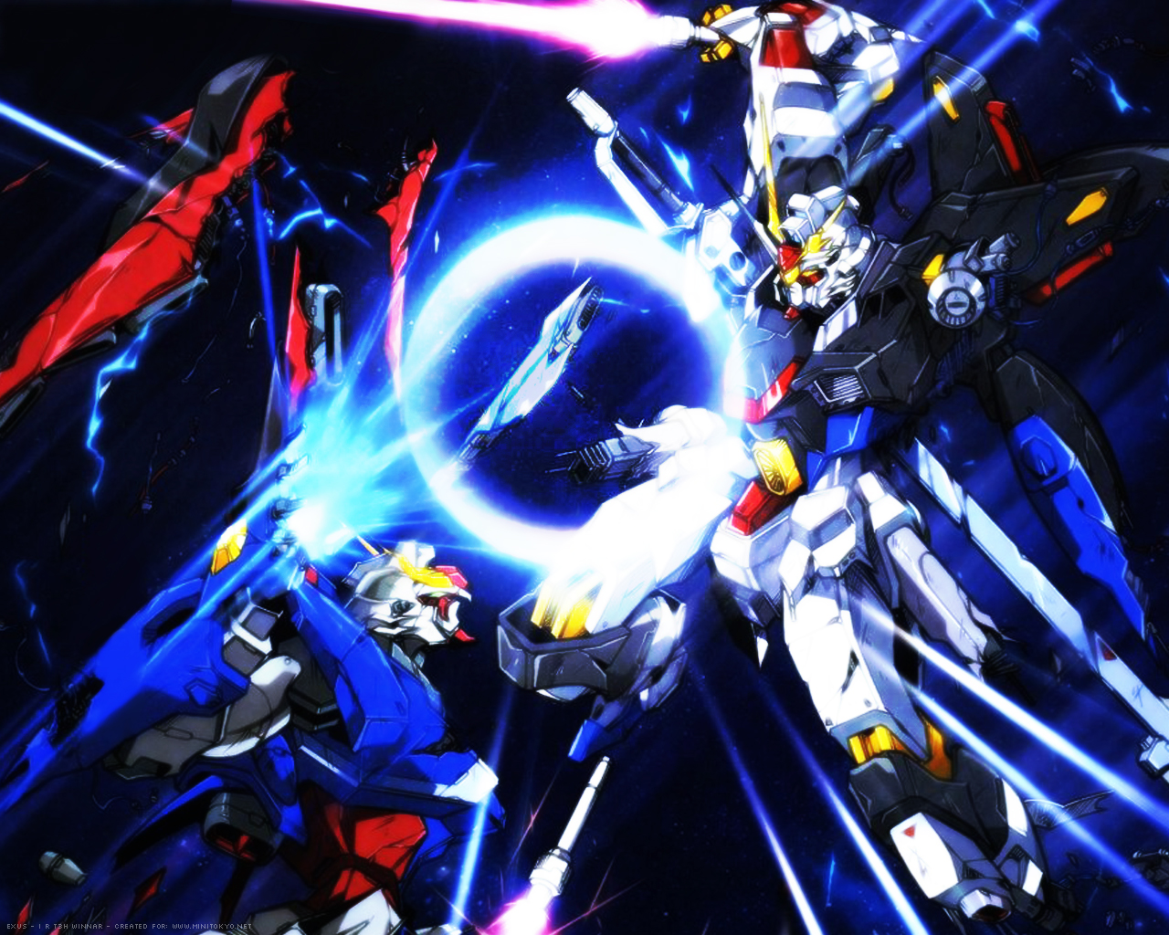 Gundam seed destiny wallpaper freedom