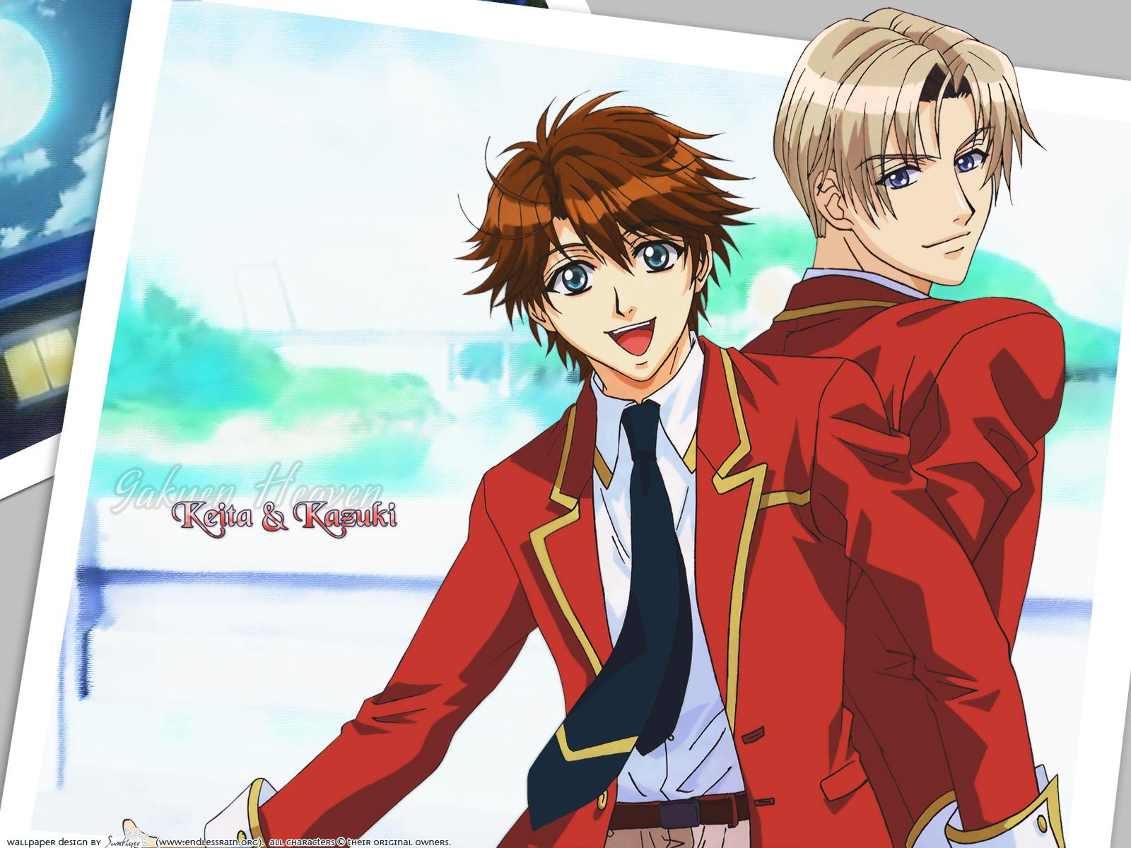 Bishounen Gakunen: Gakuen Heaven Wallpaper: Keita & Kazuki