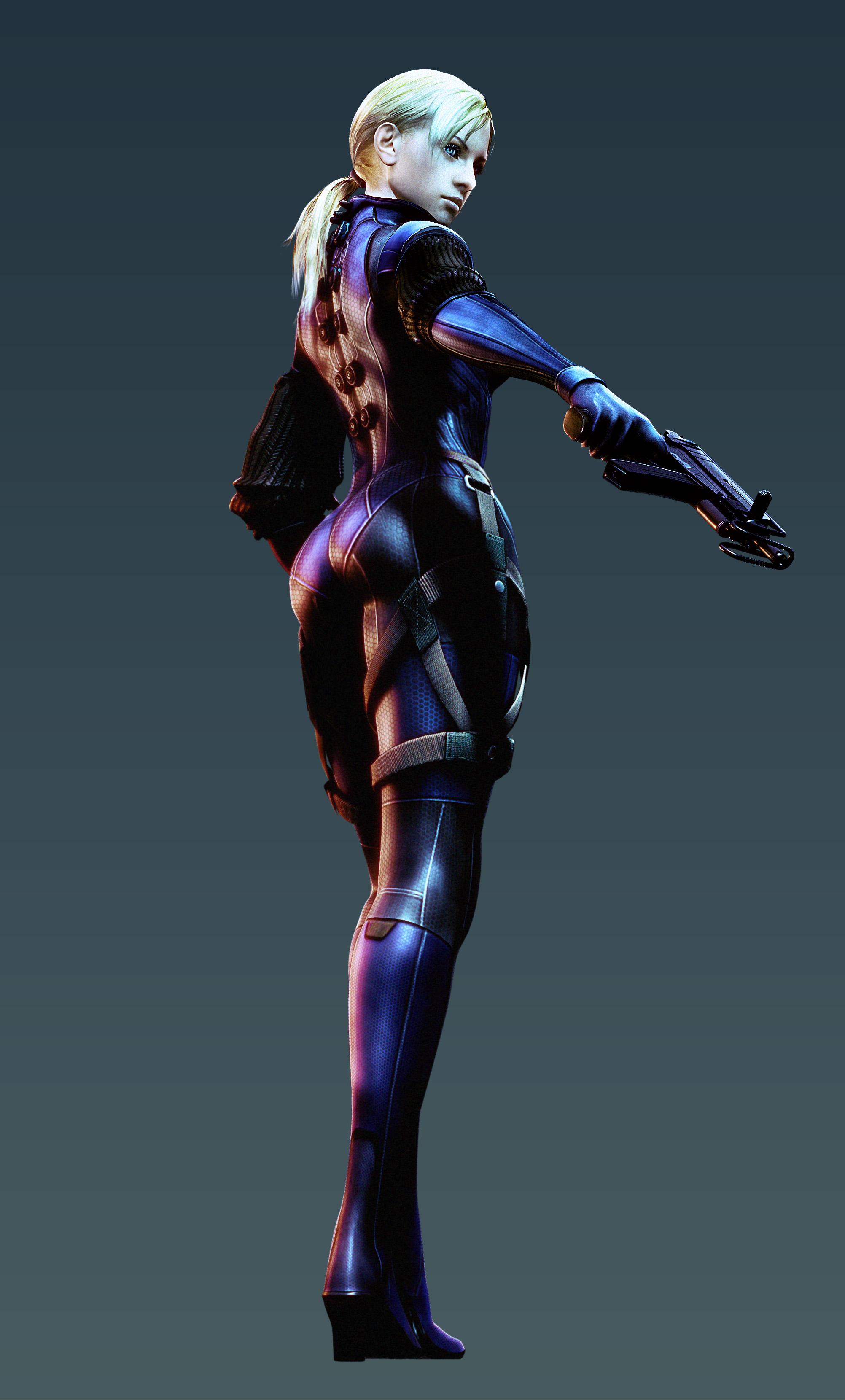 Resident Evil 5 Jill Valentine Re5 Battlesuit Minitokyo