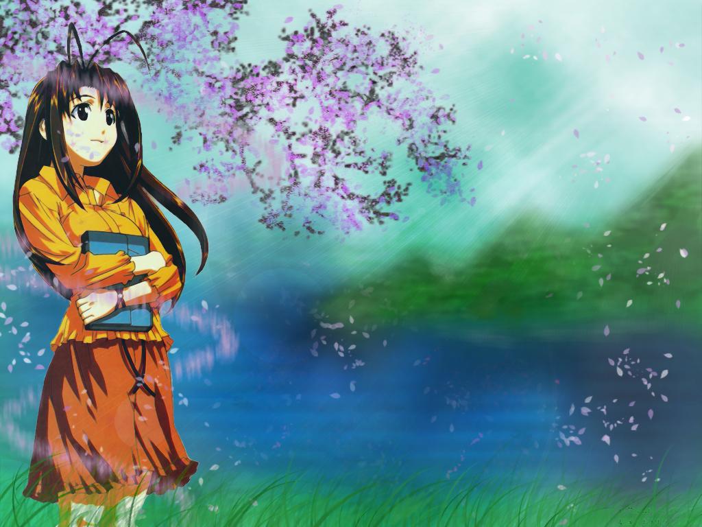Love Hina Wallpaper Fresh Start Minitokyo