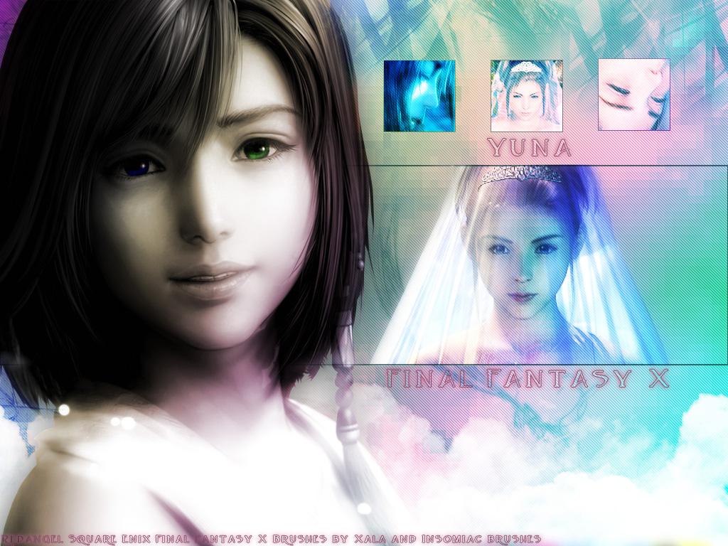 YUna invocatrice Minitokyo.Final.Fantasy.X.Wallpaper.210306