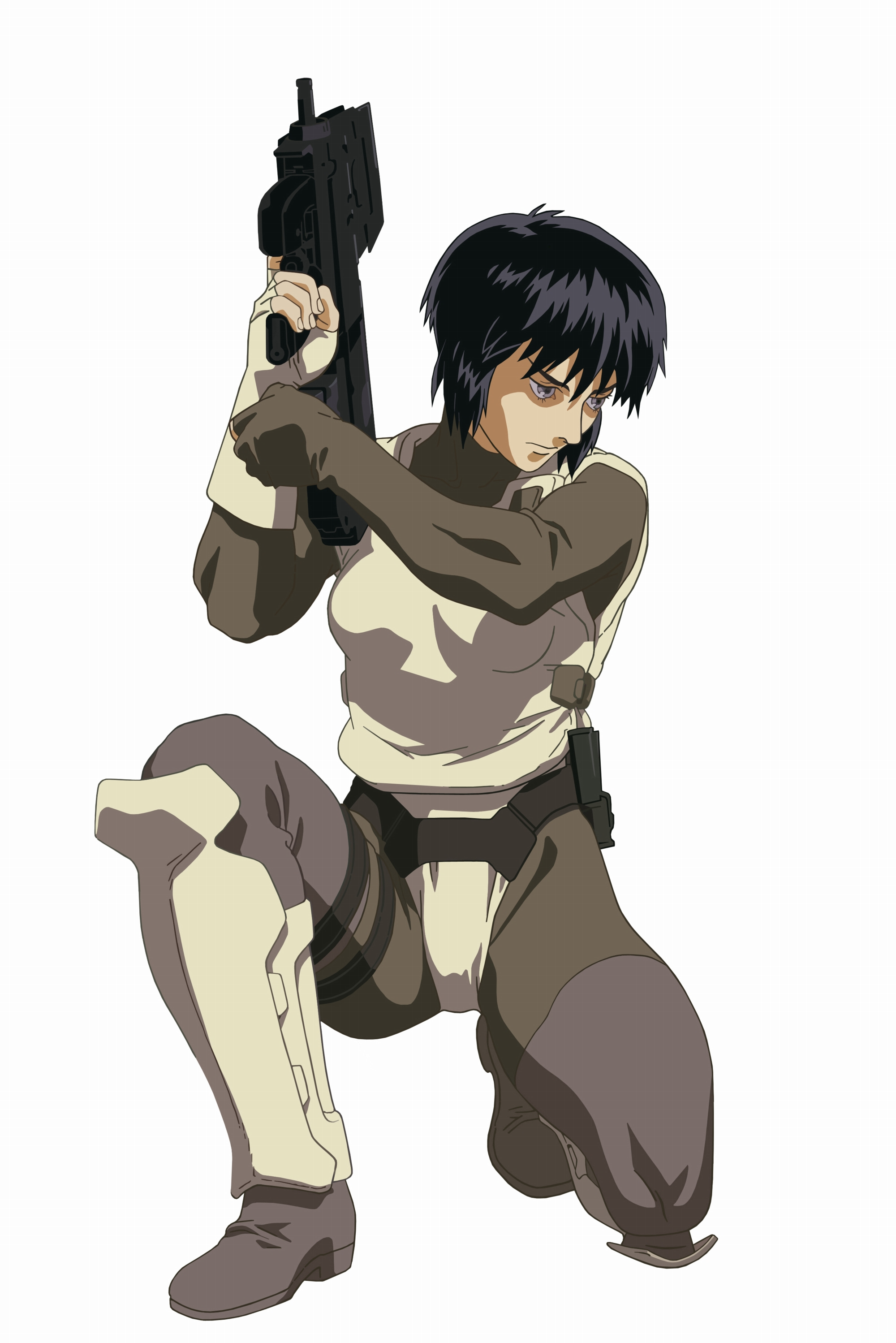 how to draw motoko major