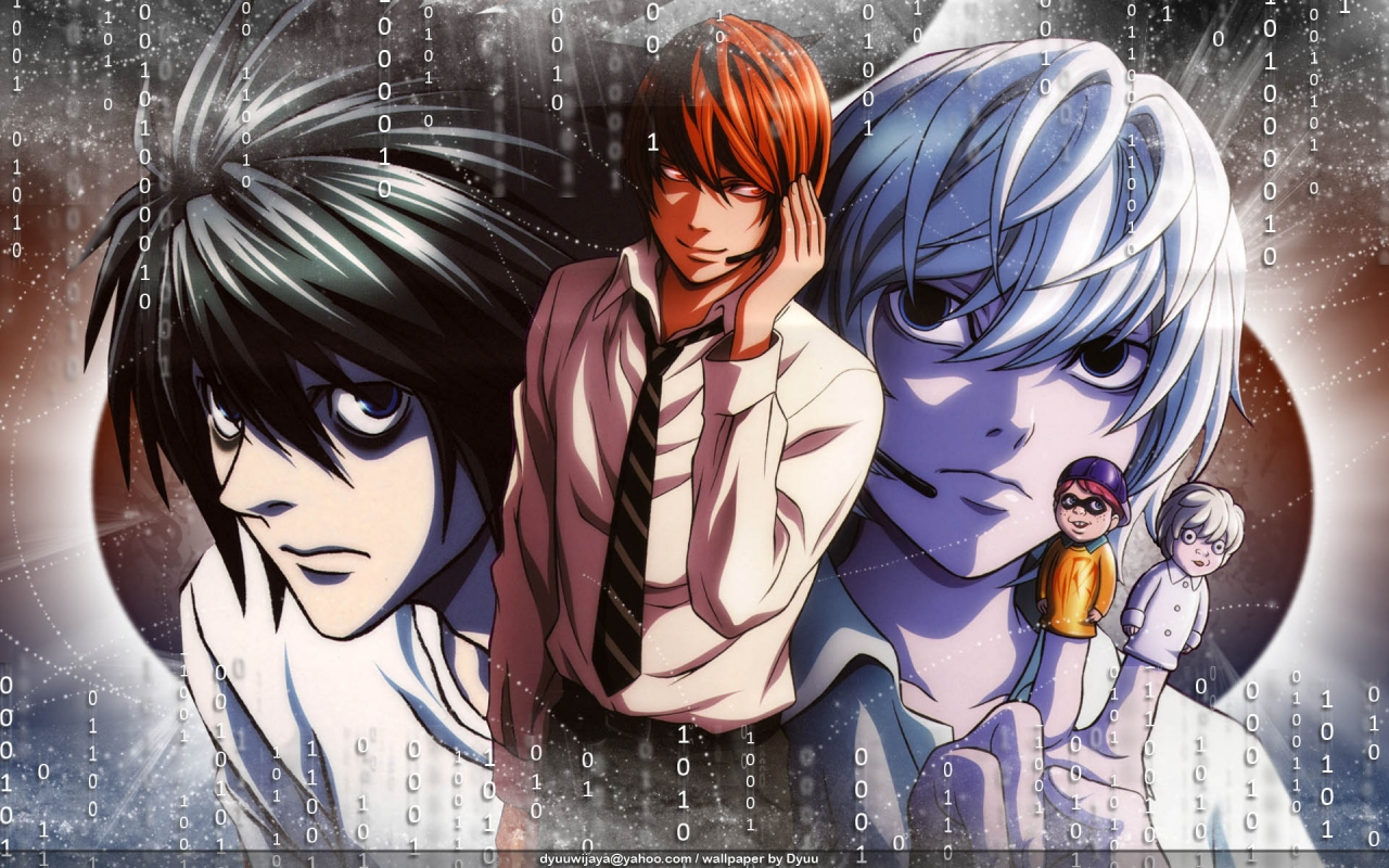 Light Yagami Wallpaper And Scan Gallery Minitokyo