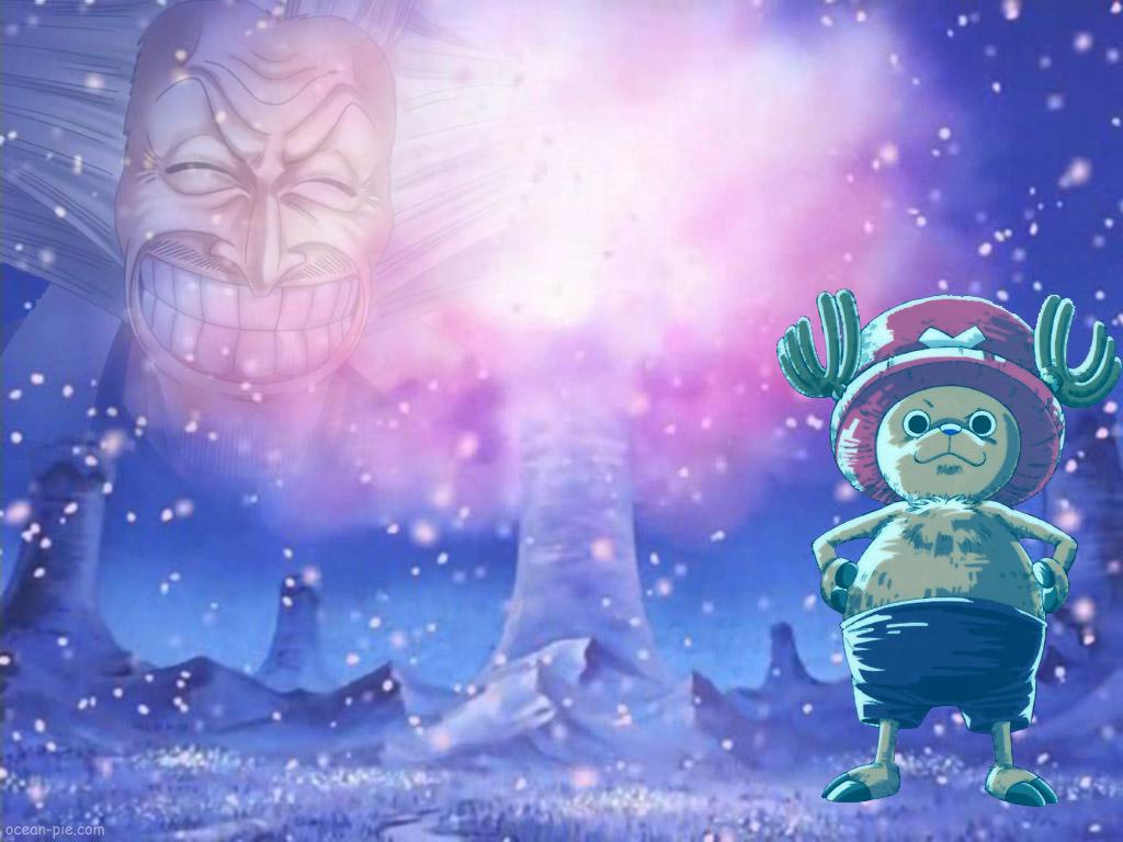 One Piece Wallpaper Snowy Chopper Minitokyo