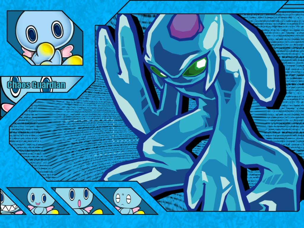 SONIC Series Wallpaper: Chaos - Guardian - Minitokyo