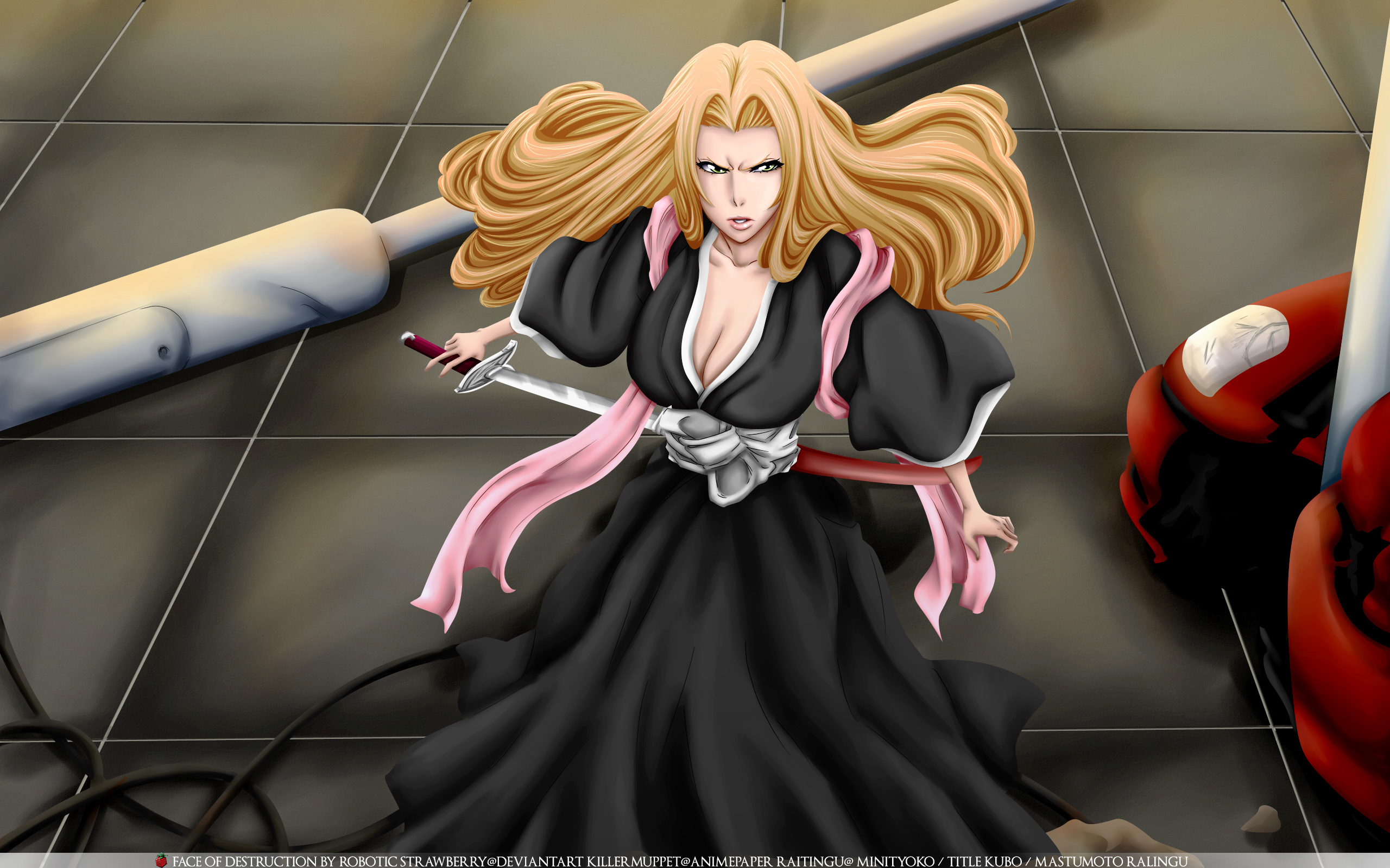 Bleach Wallpaper: Face of destruction - Minitokyo