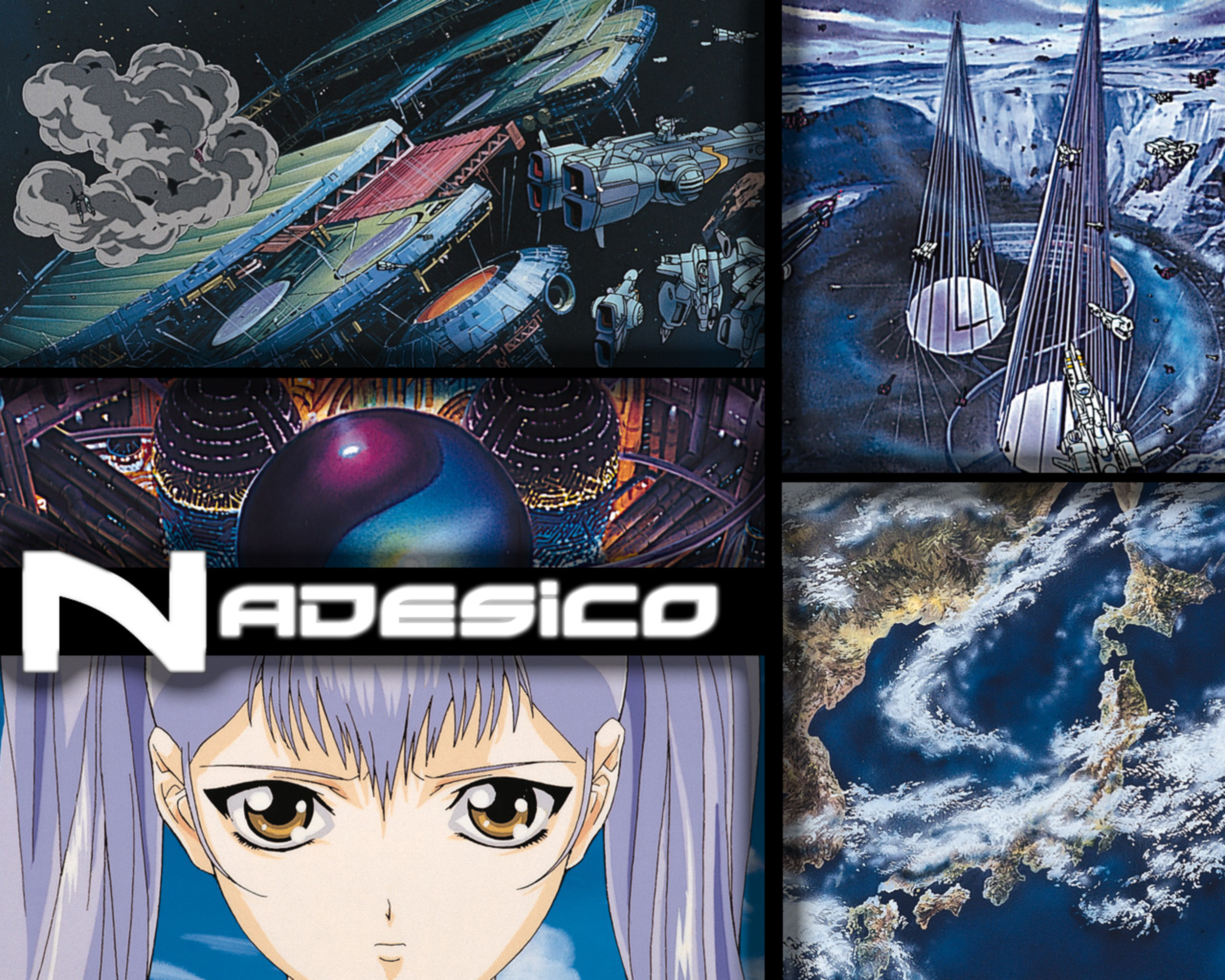 Martian Successor Nadesico Wallpaper Prince Of Darkness
