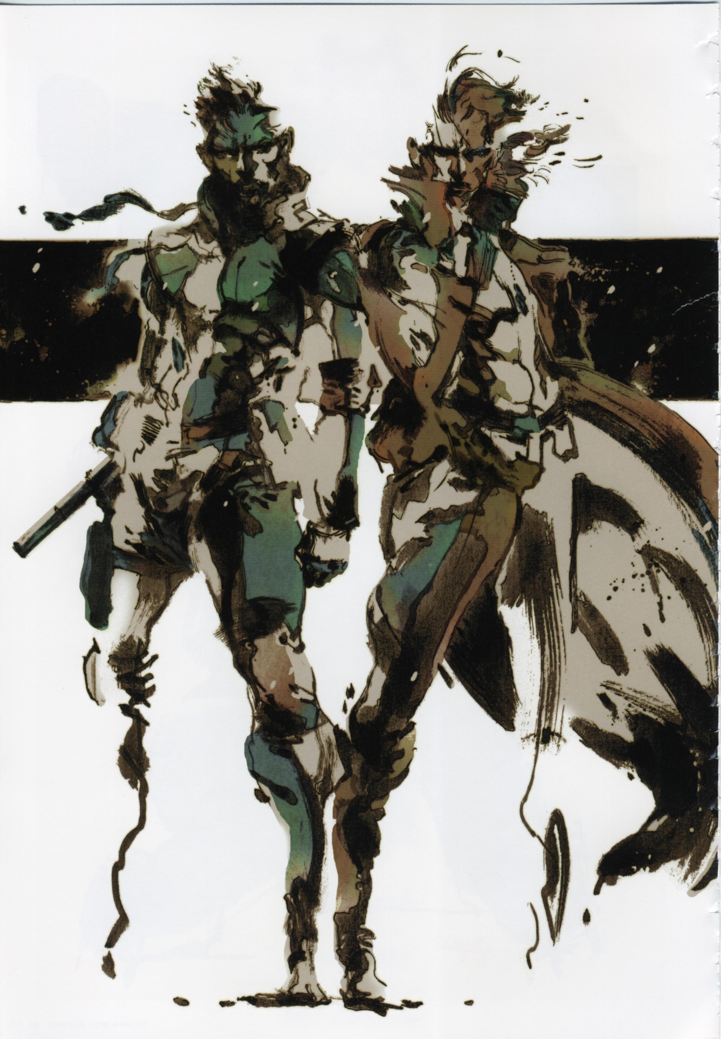 Metal Gear Solid Art Of Mgs 04 Minitokyo