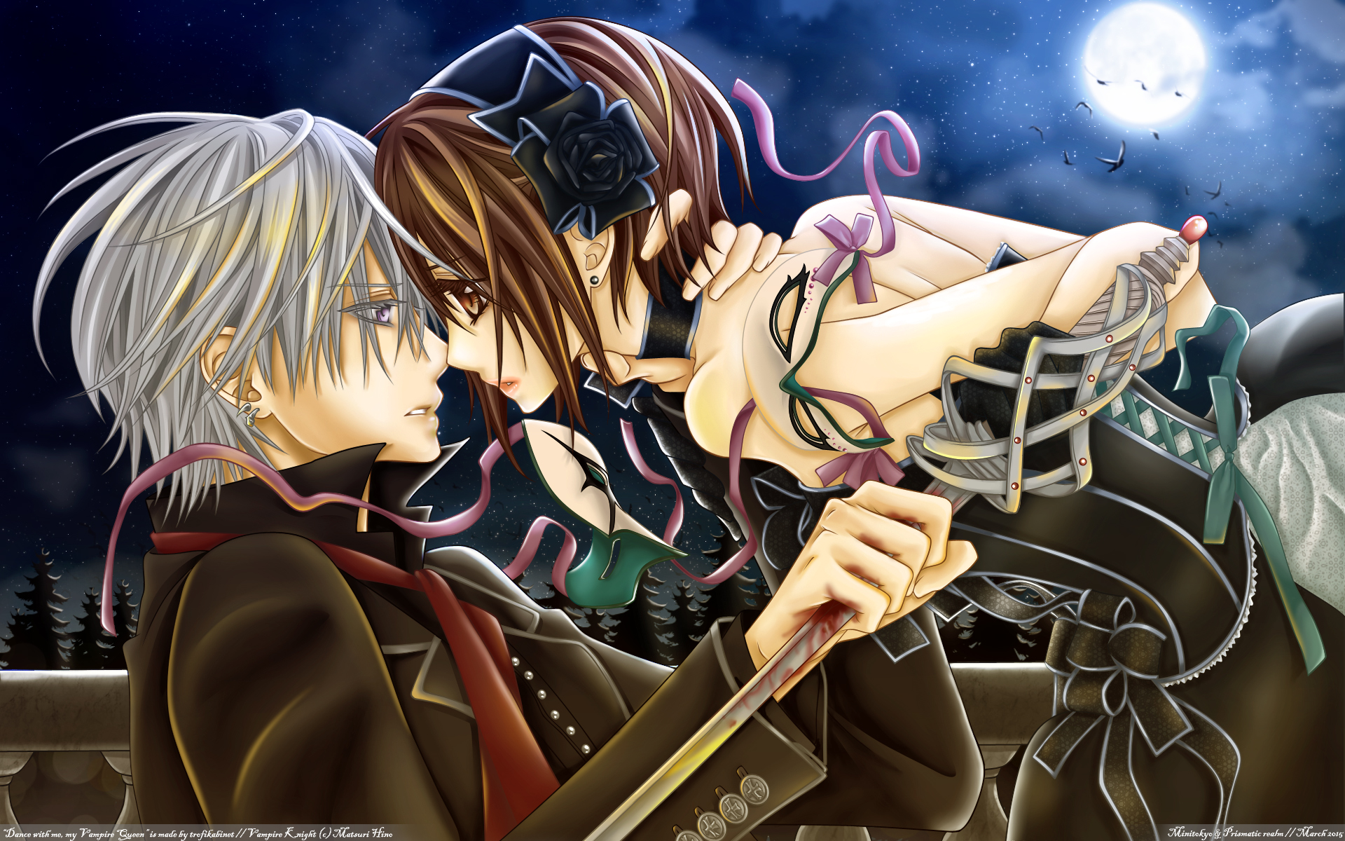 vampire knight - wallpaper and scan gallery - minitokyo