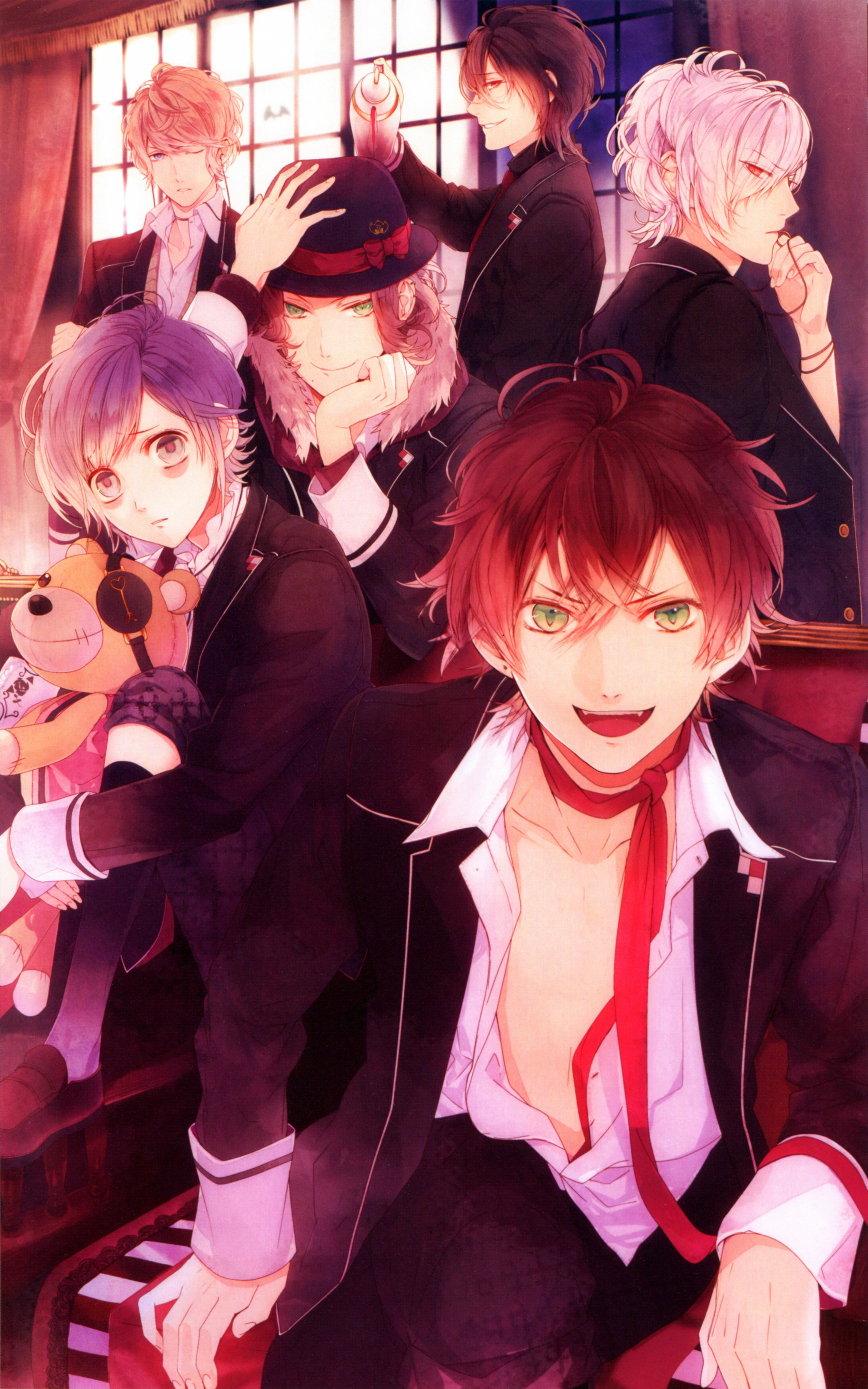 Diabolik Lovers Wallpaper And Scan Gallery Minitokyo