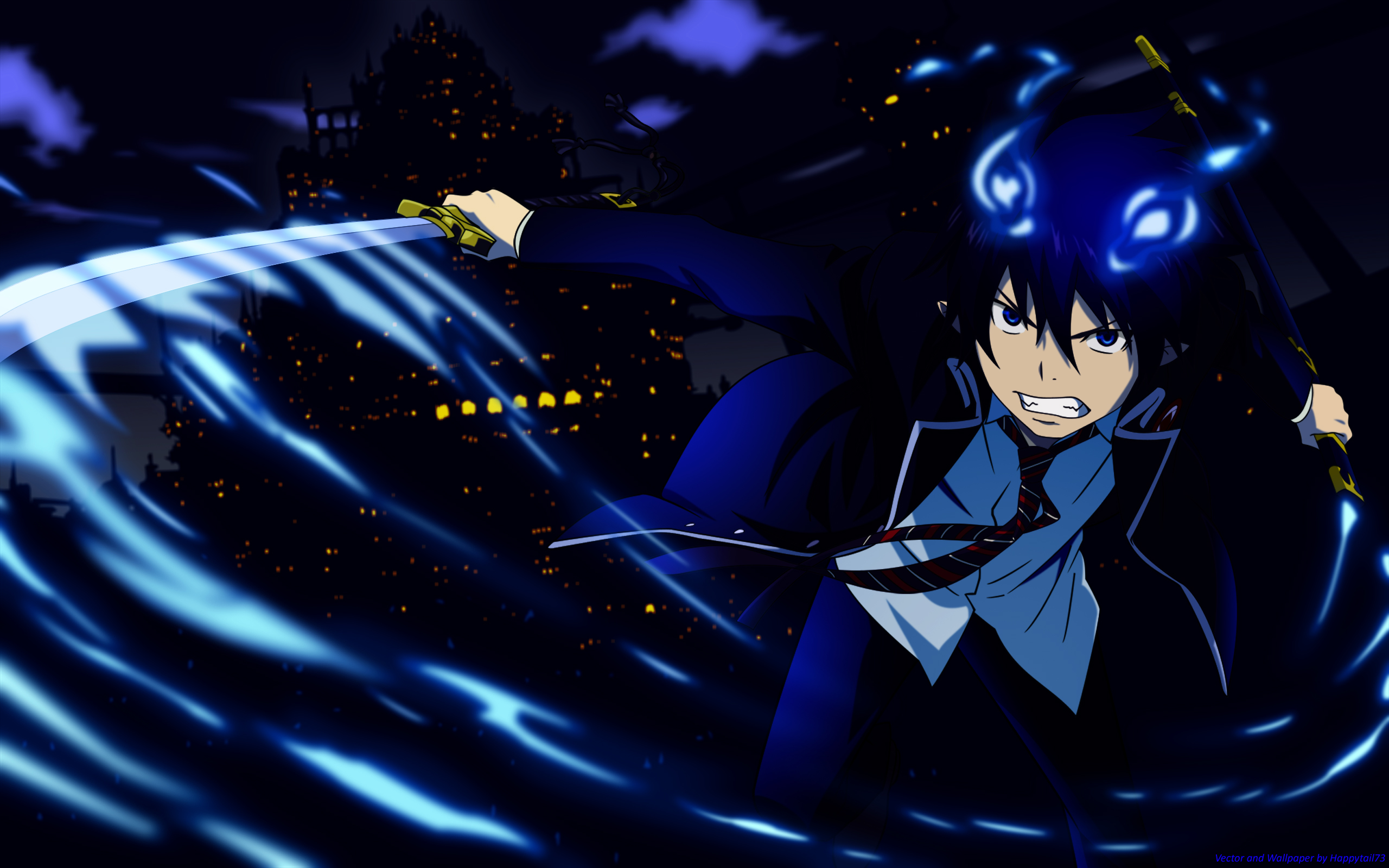 Ao No Exorcist Wallpaper And Scan Gallery Minitokyo