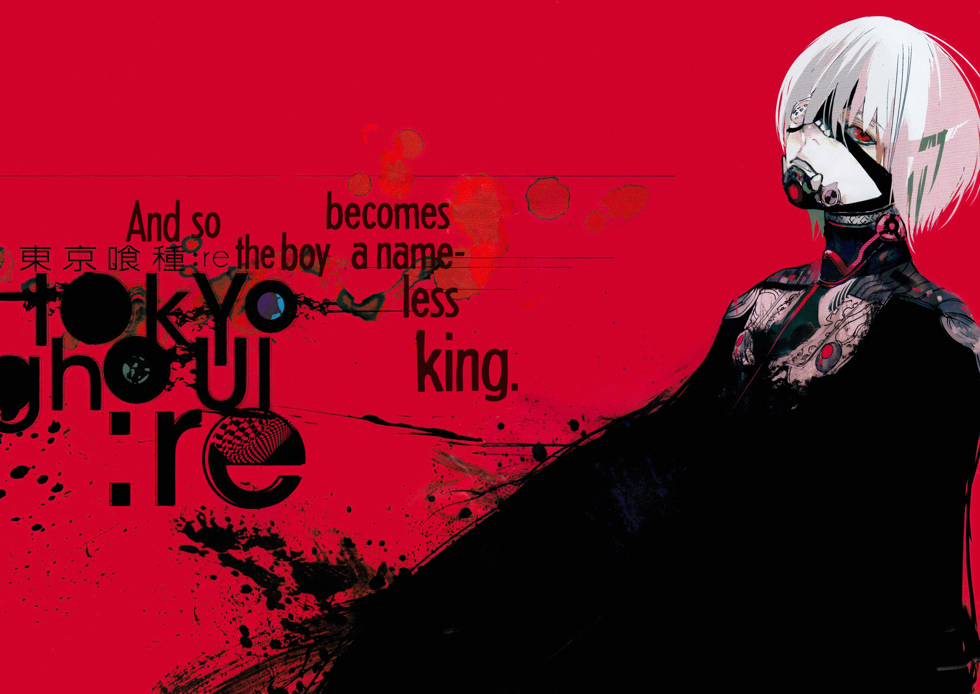 Tokyo Ghoul Re Wallpaper And Scan Gallery Minitokyo