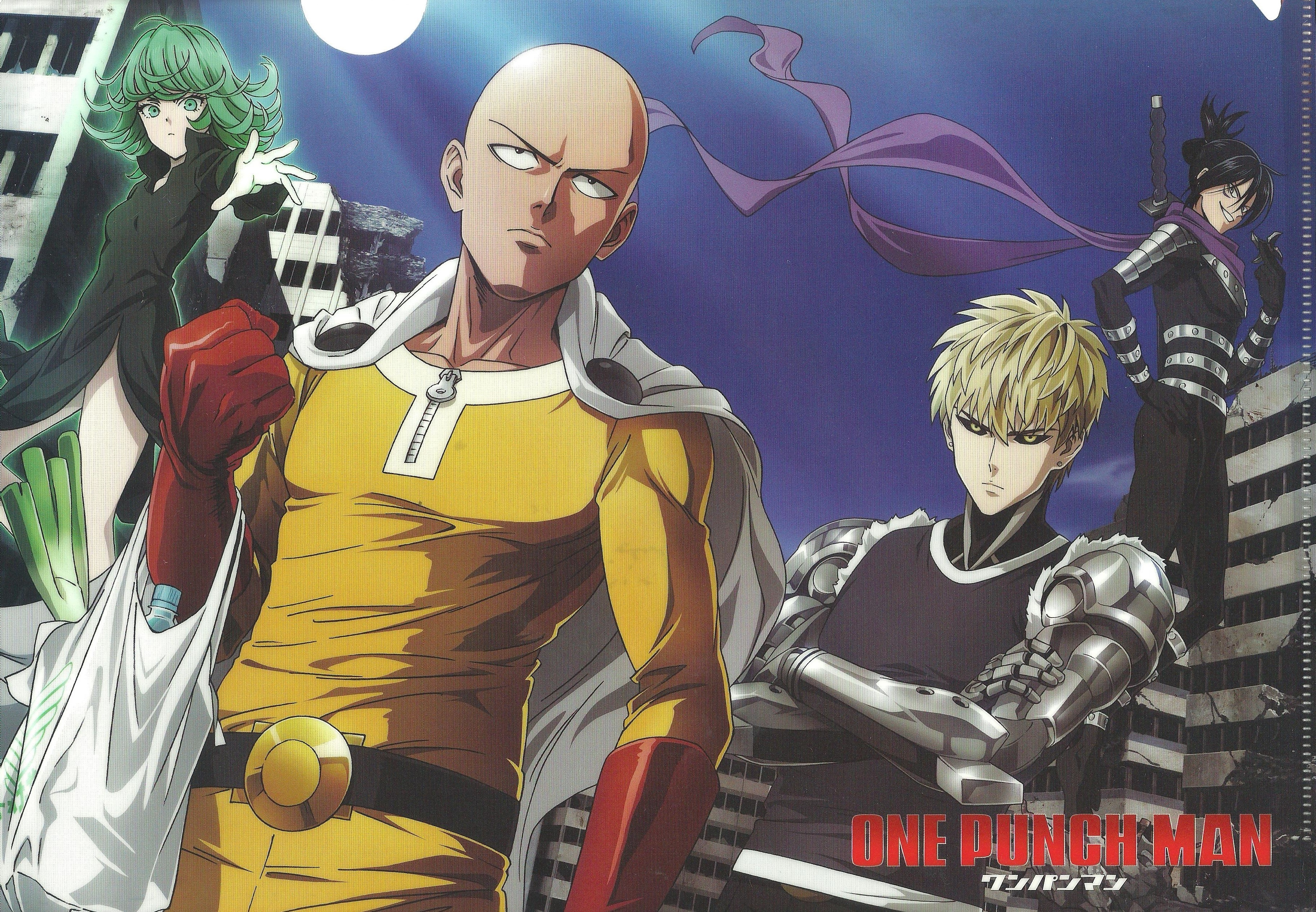 onepunch man wallpaper and scan gallery minitokyo