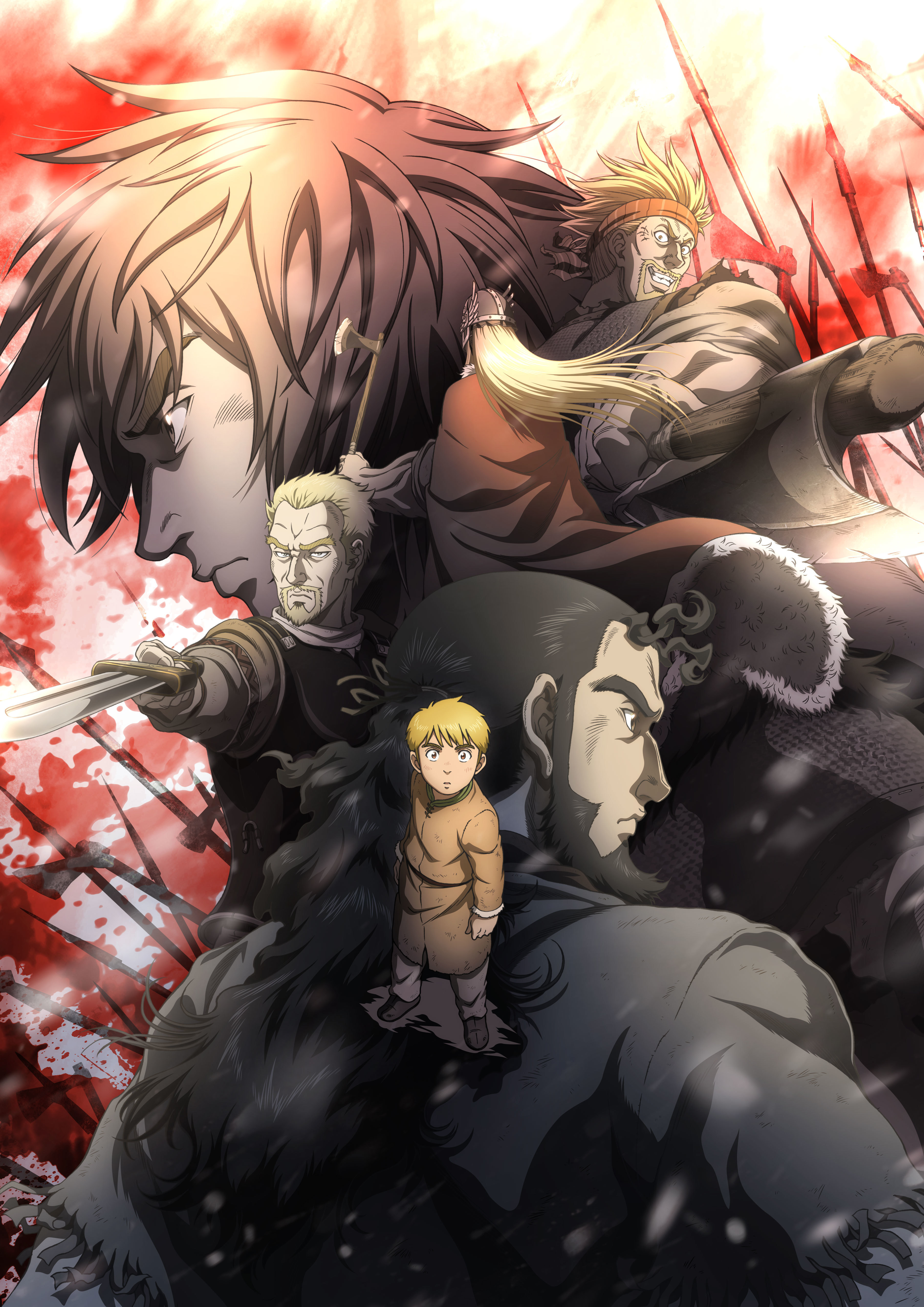 Vinland Saga Wallpaper And Scan Gallery Minitokyo