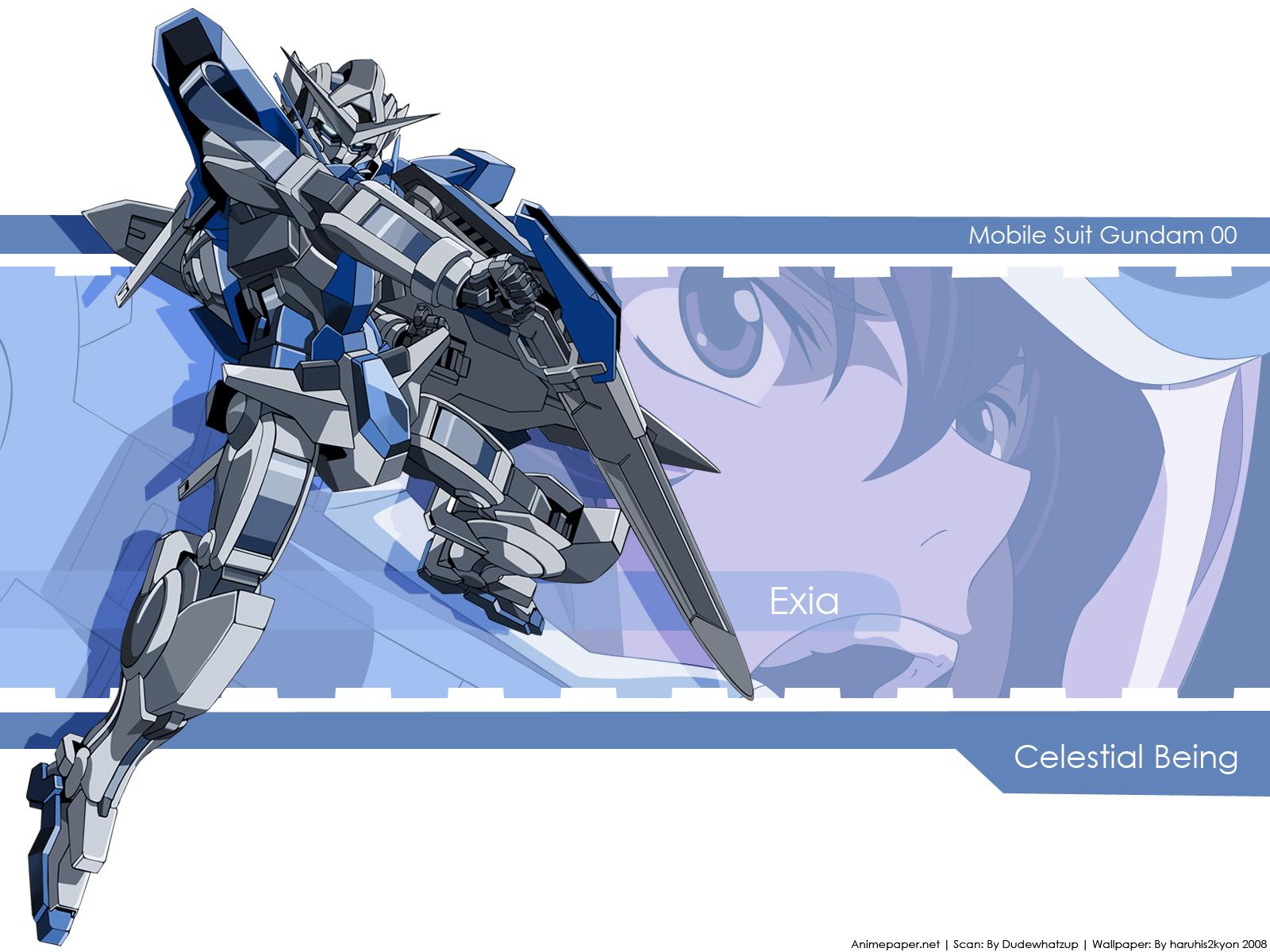 Mobile Suit Gundam 00 Wallpaper Exia Minitokyo