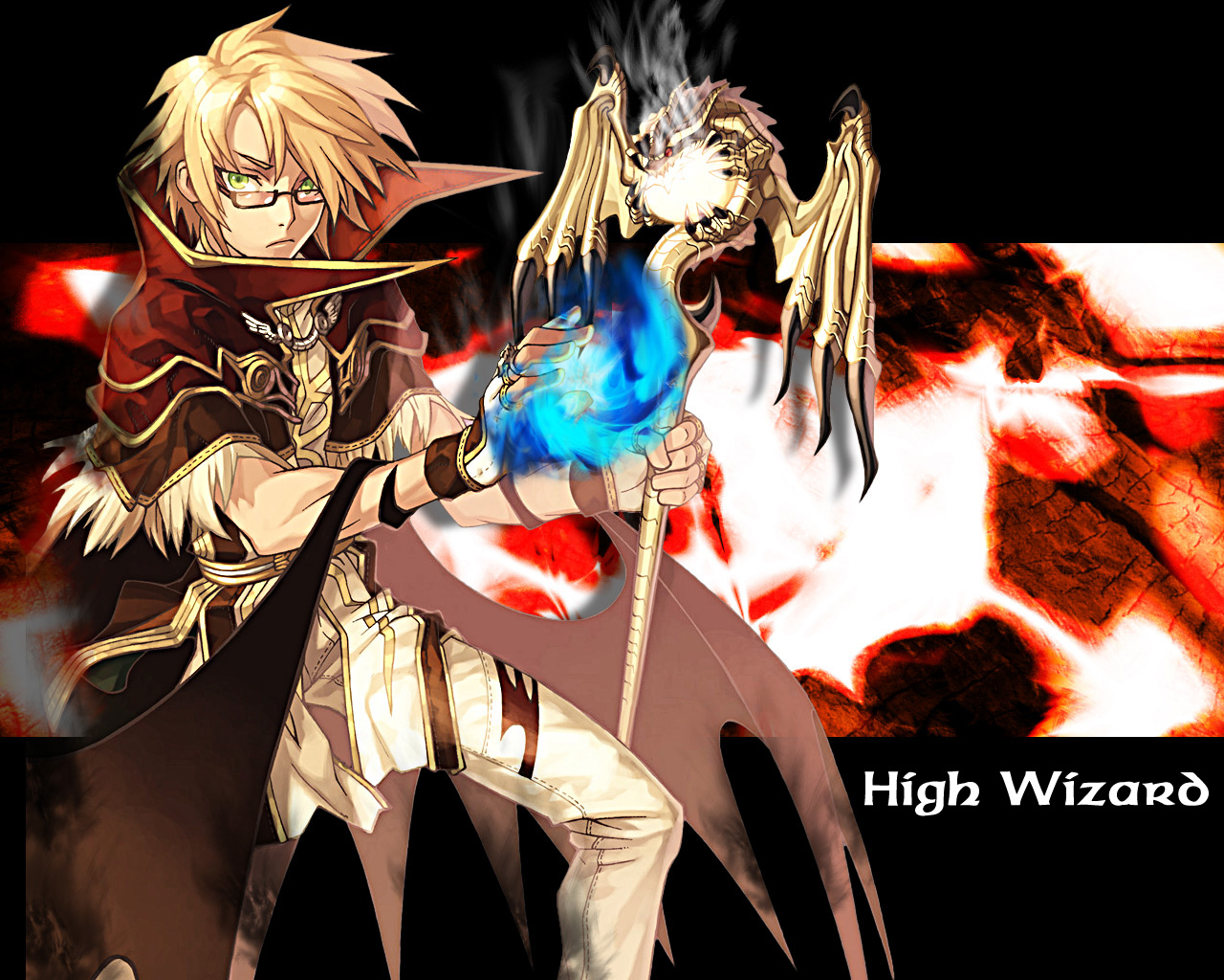 High Wizard Wallpaper And Scan Gallery Minitokyo