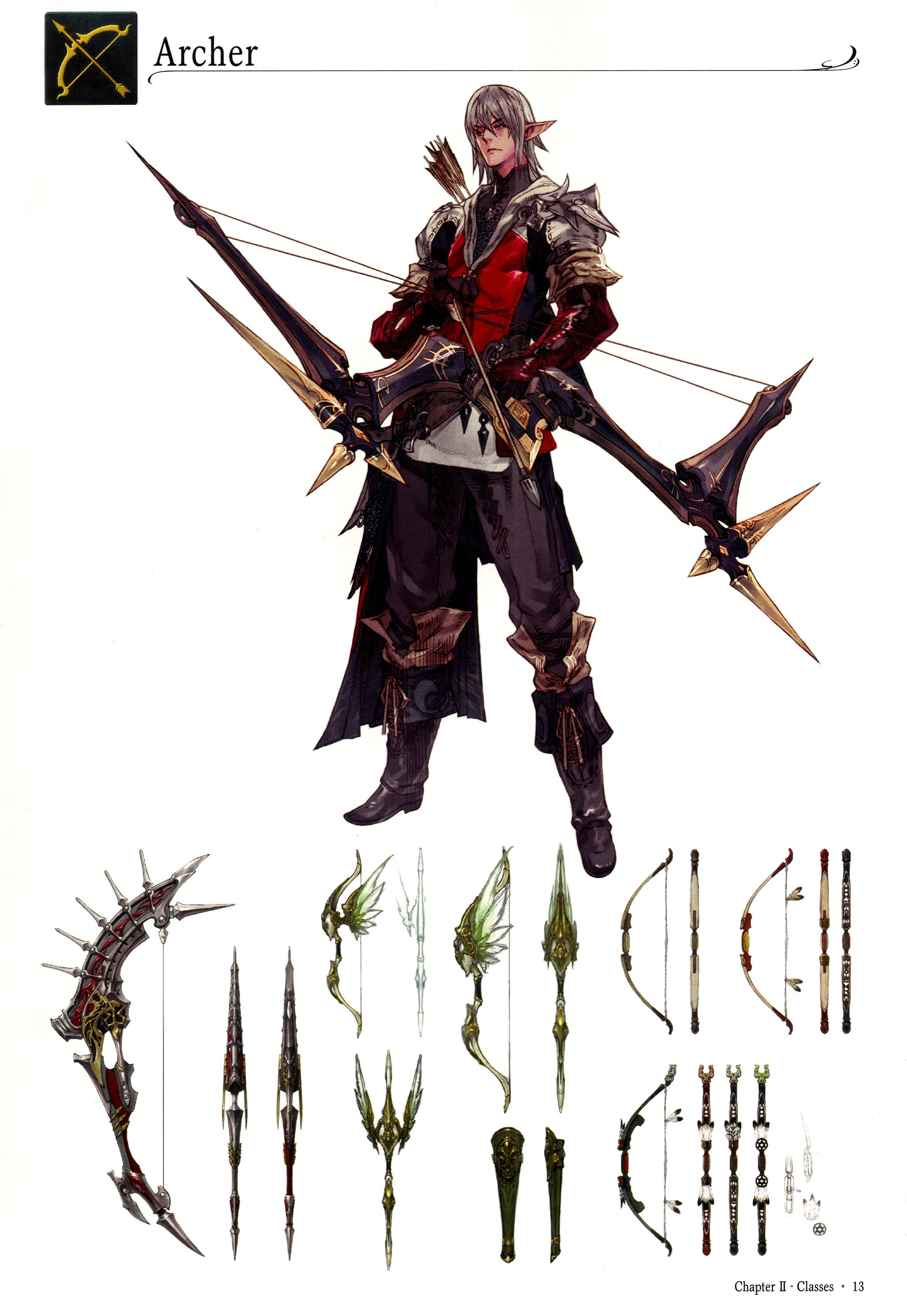 Final Fantasy Xiv Archer Class Minitokyo