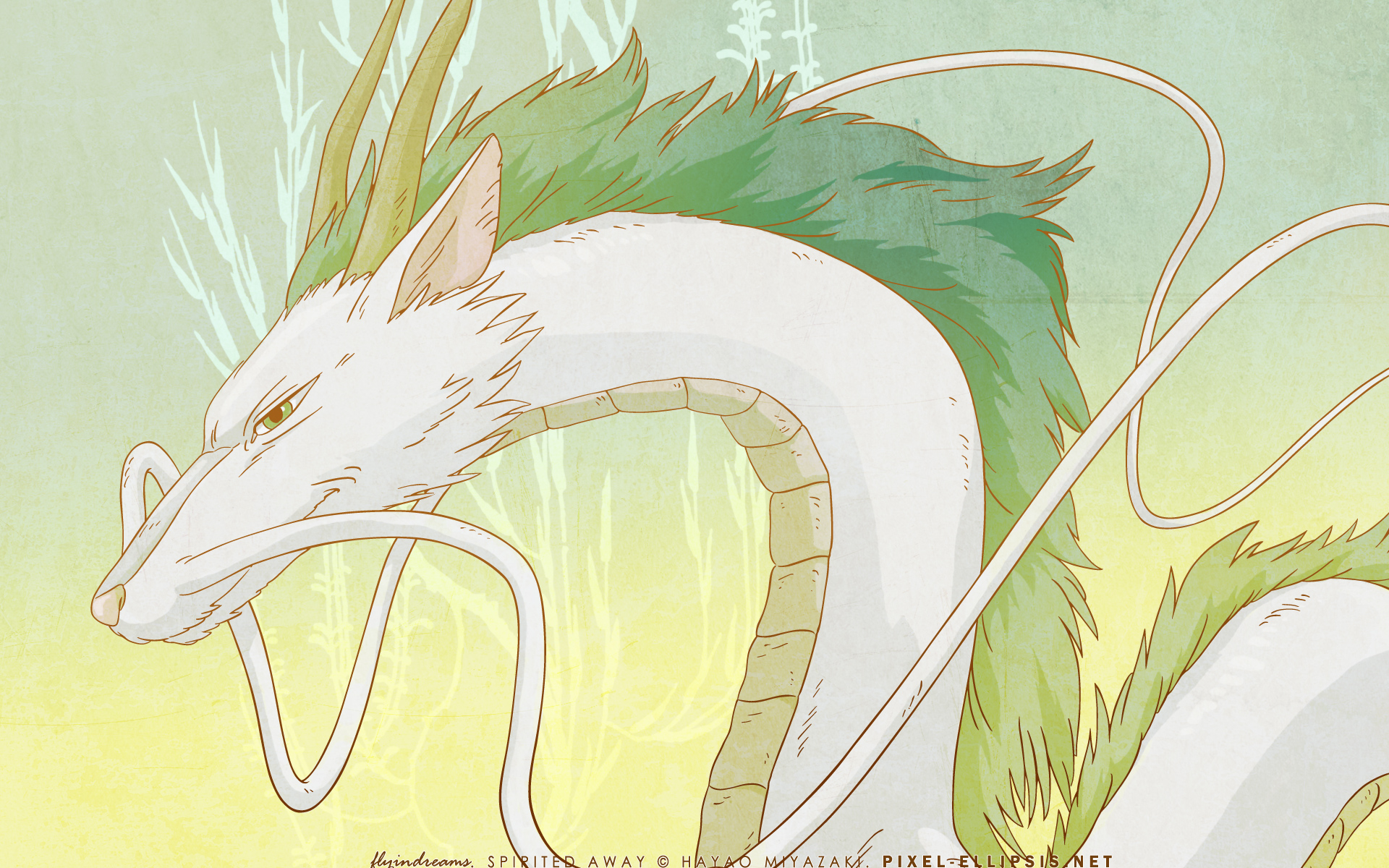 Spirited Away Wallpaper Haku Minitokyo