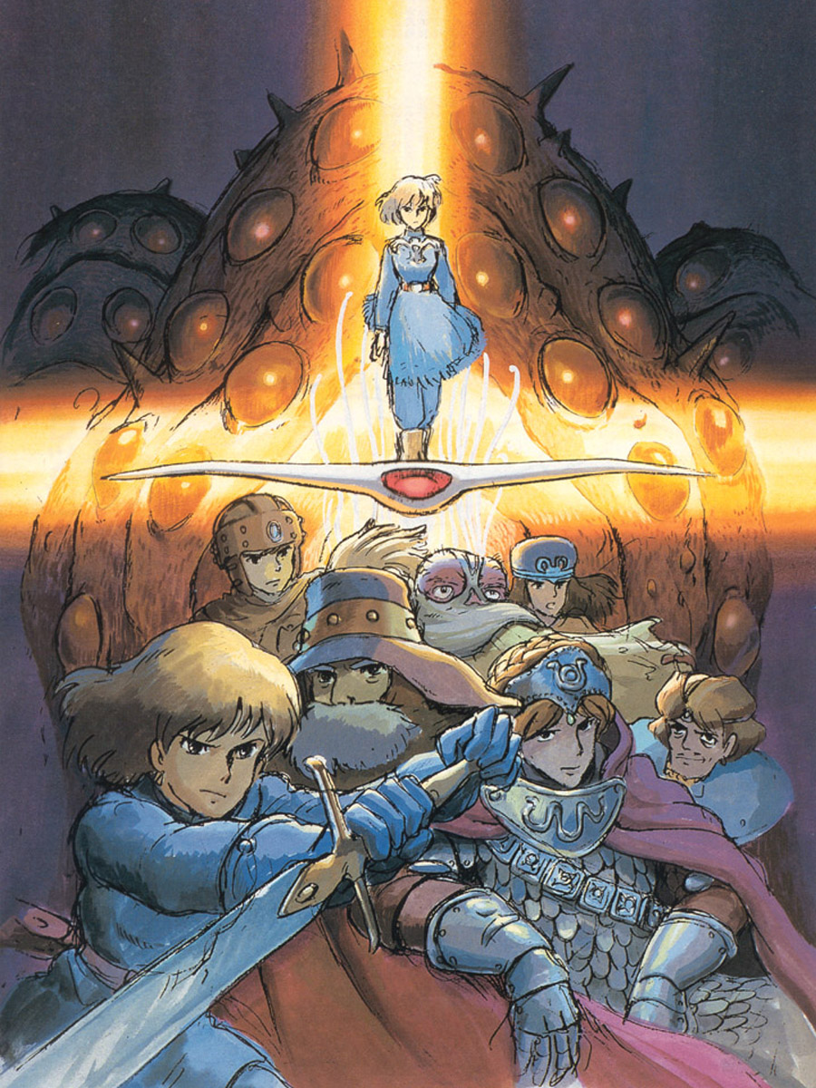 Nausicaa of the Valley of the Wind Wallpaper: Nausicaa ... |Nausicaa Studio Ghibli Wallpaper