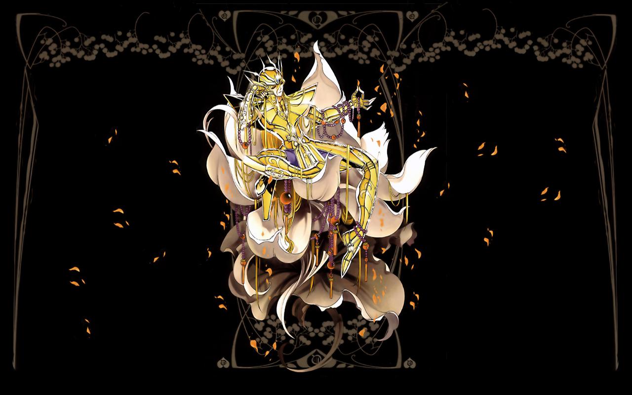 virgo shaka wallpaper and scan gallery minitokyo