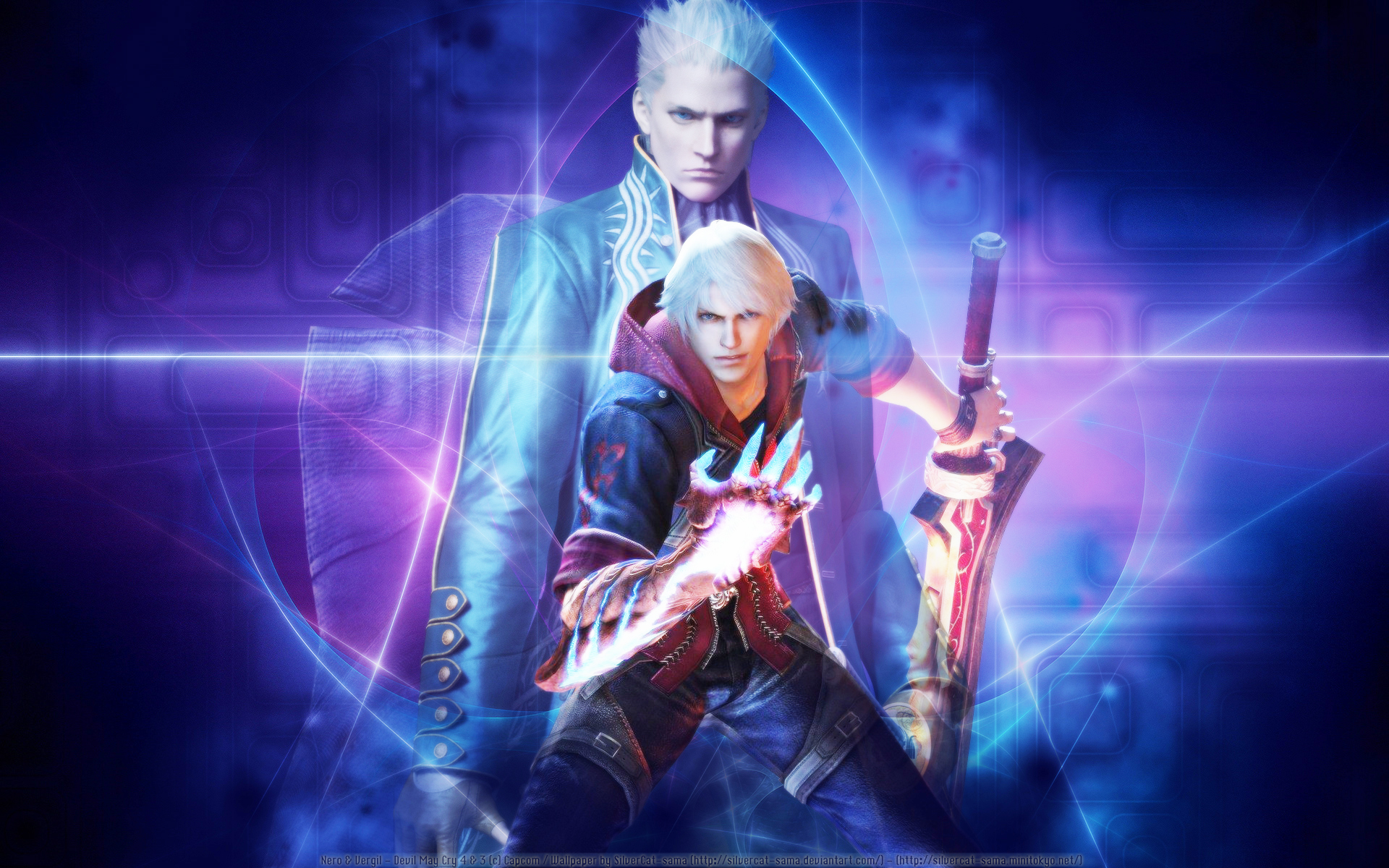Devil May Cry Wallpaper One Soul Minitokyo