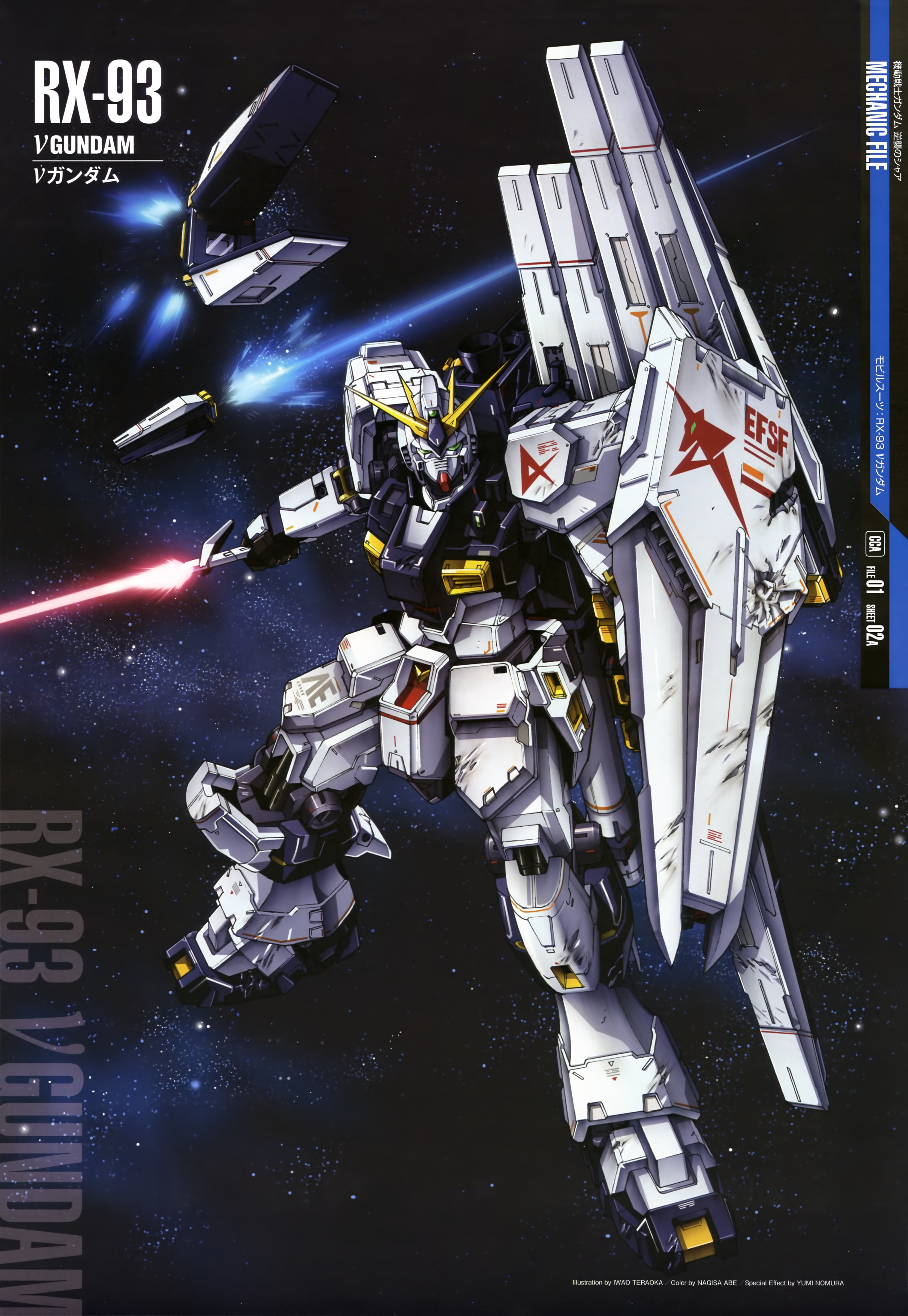 Mobile Suit Gundam Char S Counterattack Wallpaper And Scan Gallery Minitokyo