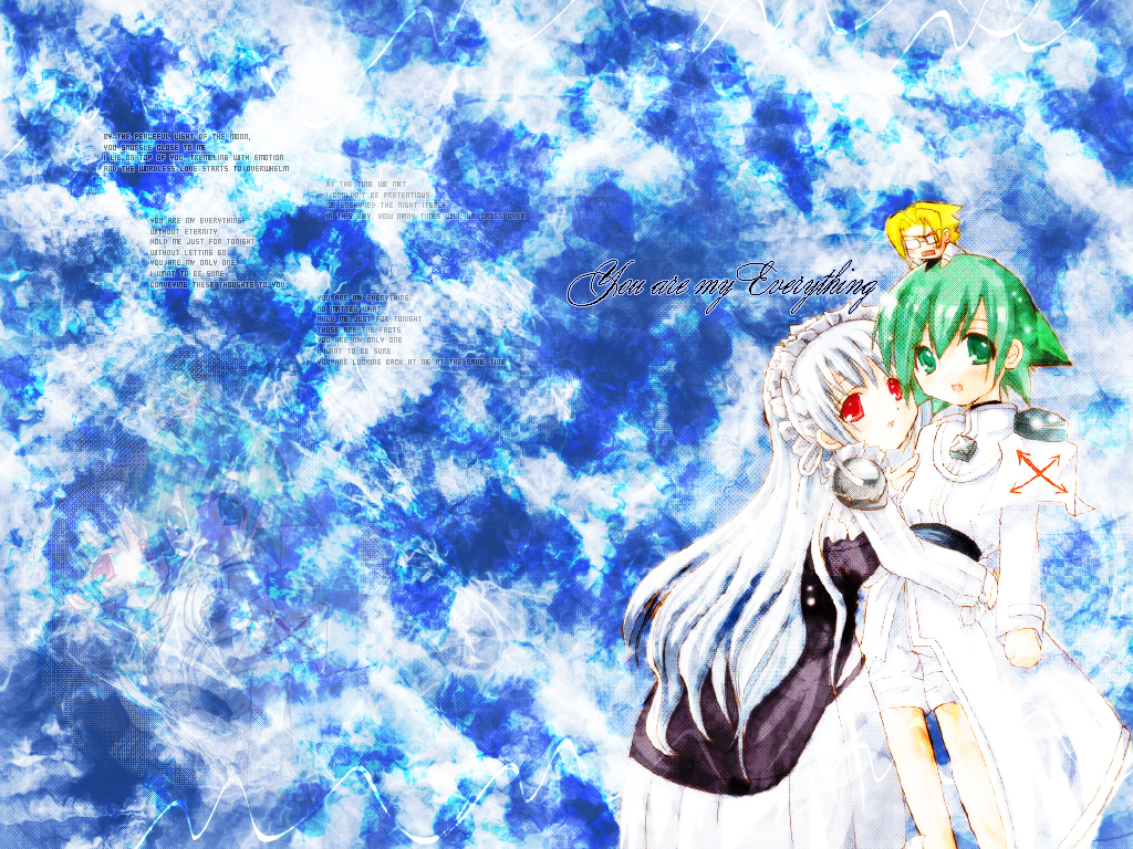 Shaman King Wallpaper You Are My Everything Minitokyo