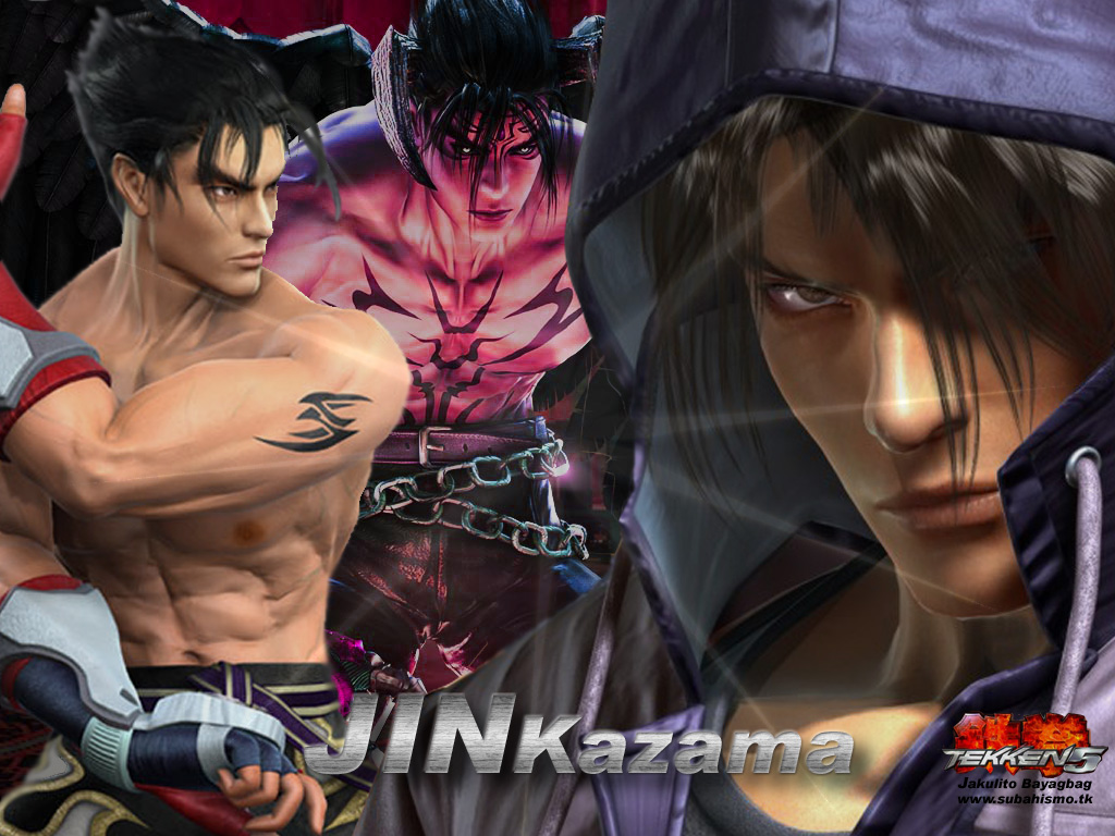 jin kazama wallpapers tekken 5