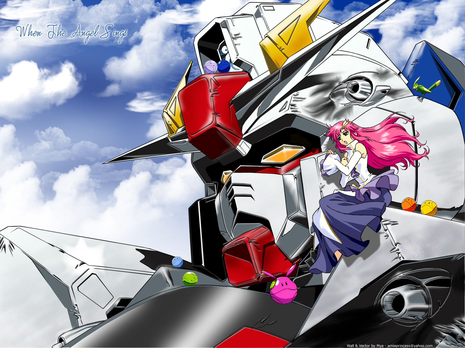 Mobile Suit Gundam Seed Wallpaper When The Angel Sings